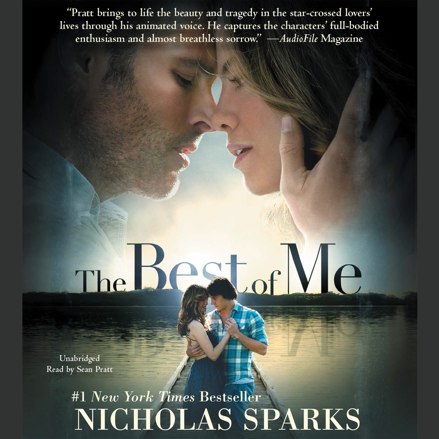 Printable The Best of Me Audiobook Cover Art