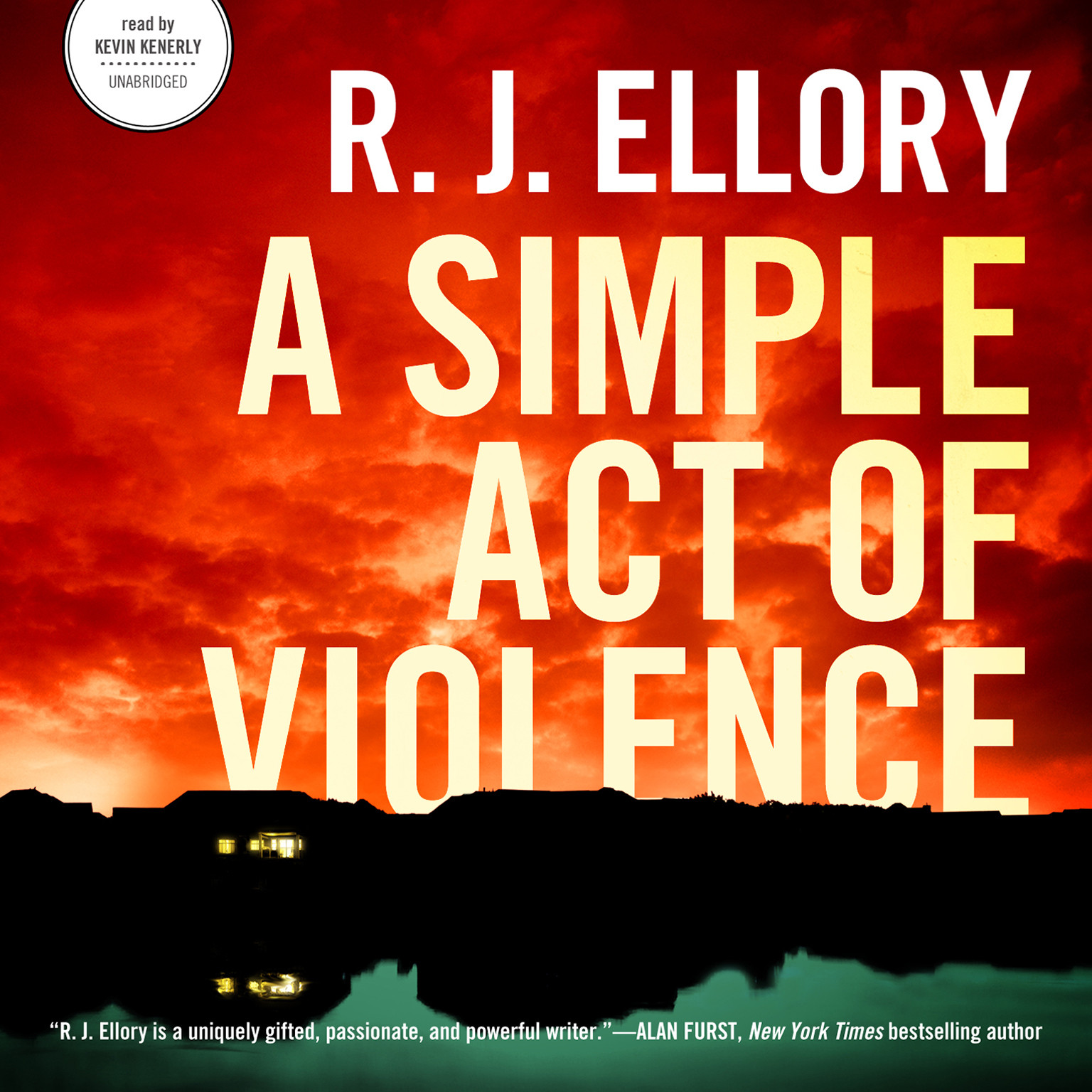 Printable A Simple Act of Violence Audiobook Cover Art