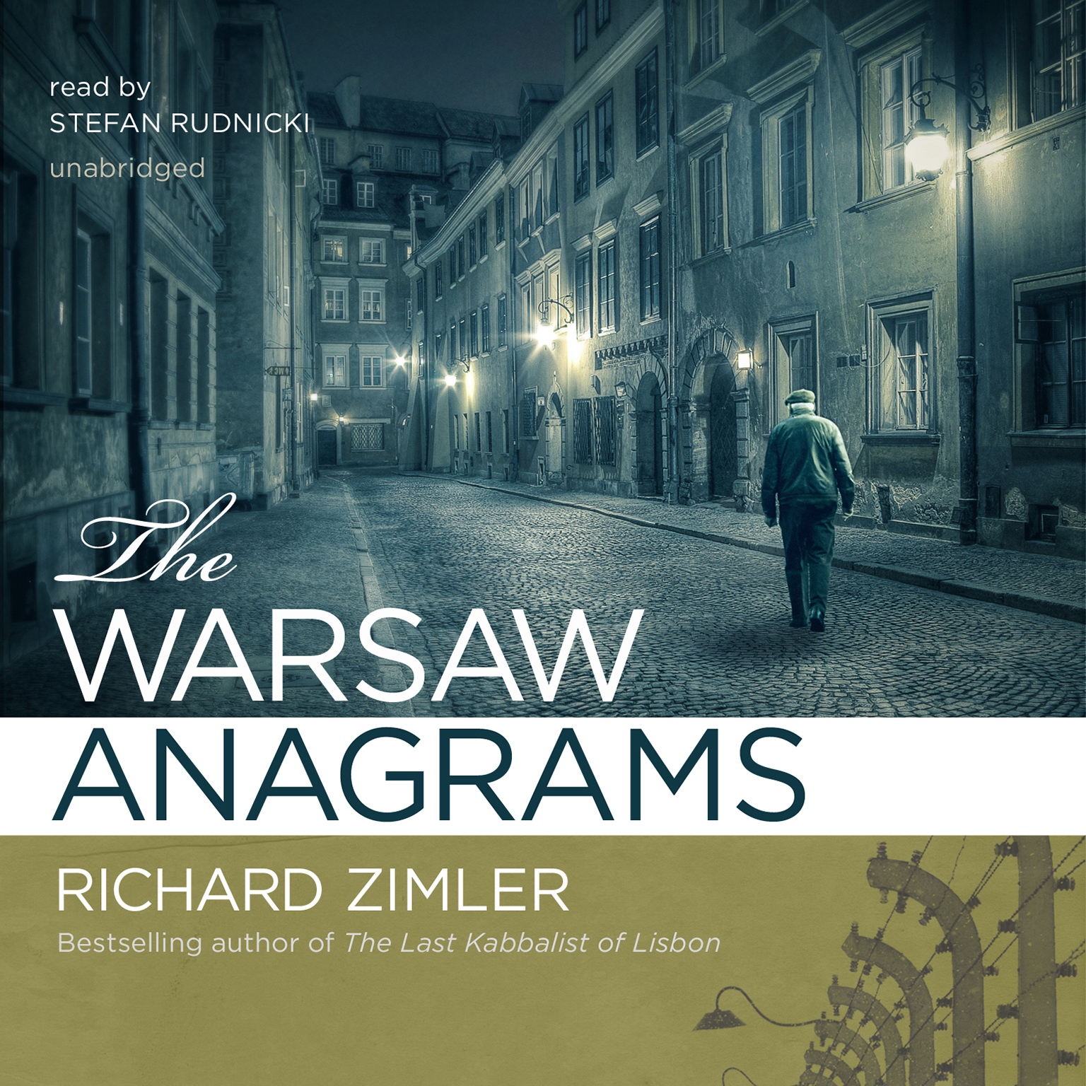 Printable The Warsaw Anagrams: A Novel Audiobook Cover Art
