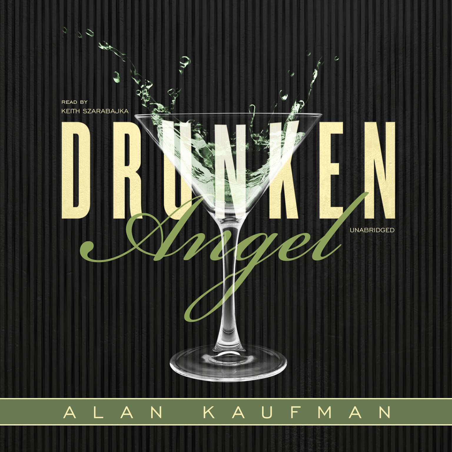 Printable Drunken Angel Audiobook Cover Art