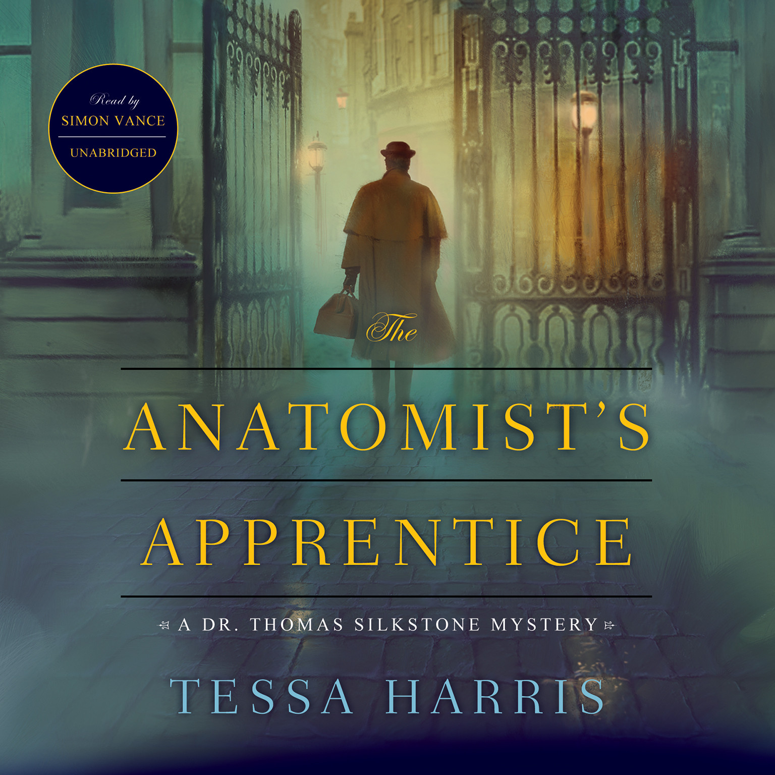 Printable The Anatomist's Apprentice: A Dr. Thomas Silkstone Mystery Audiobook Cover Art