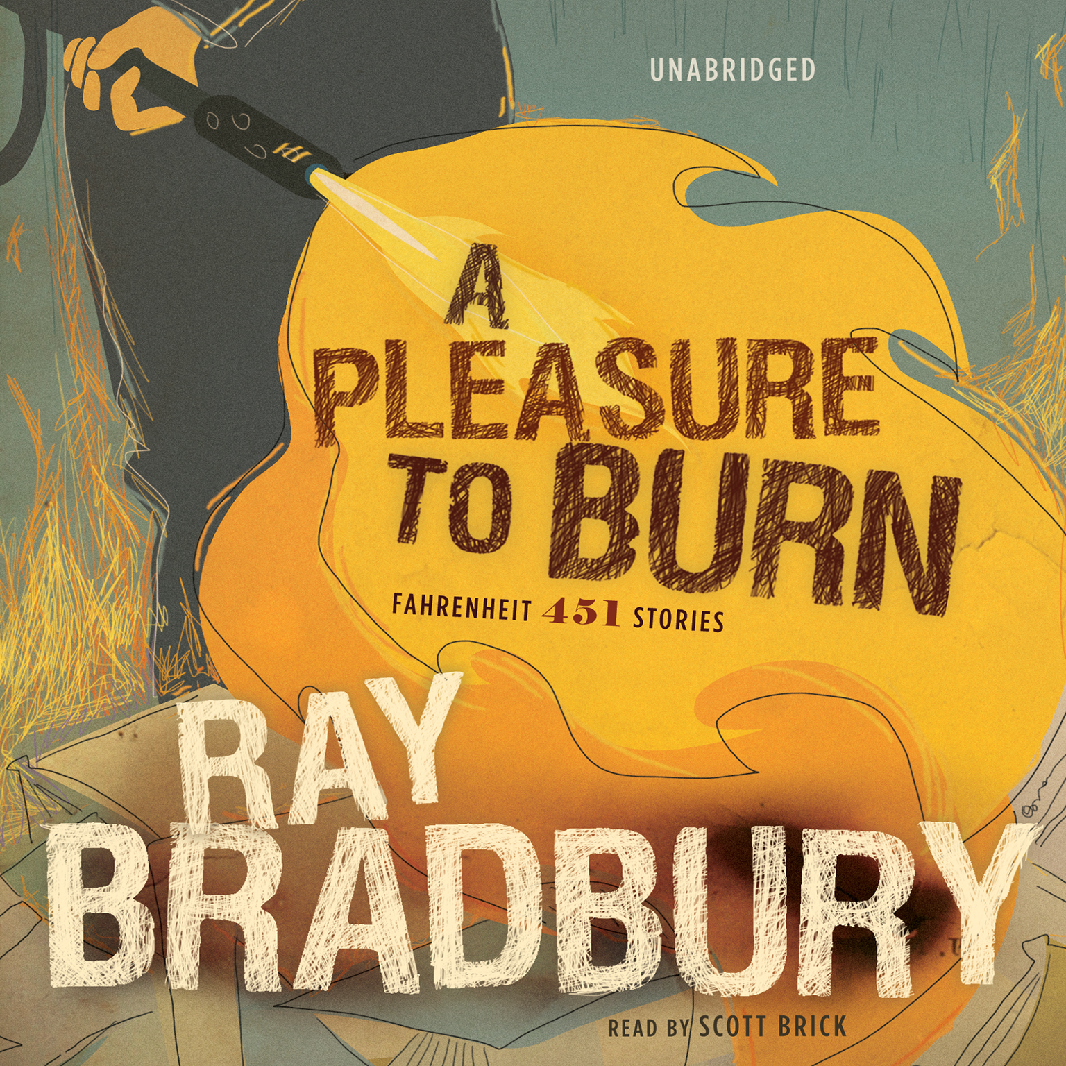 Printable A Pleasure to Burn: Fahrenheit 451 Stories Audiobook Cover Art