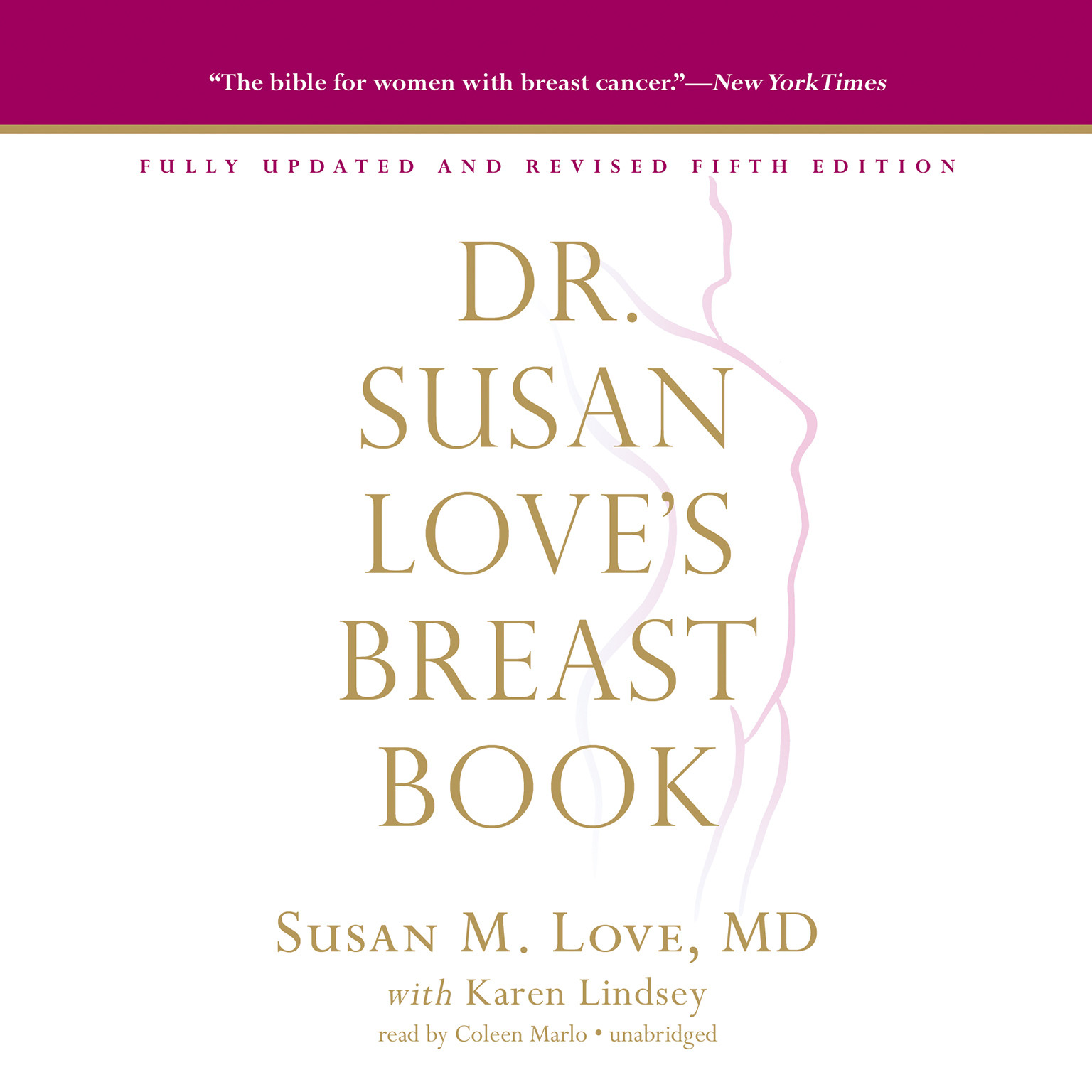Printable Dr. Susan Love's Breast Book, 5th Edition Audiobook Cover Art