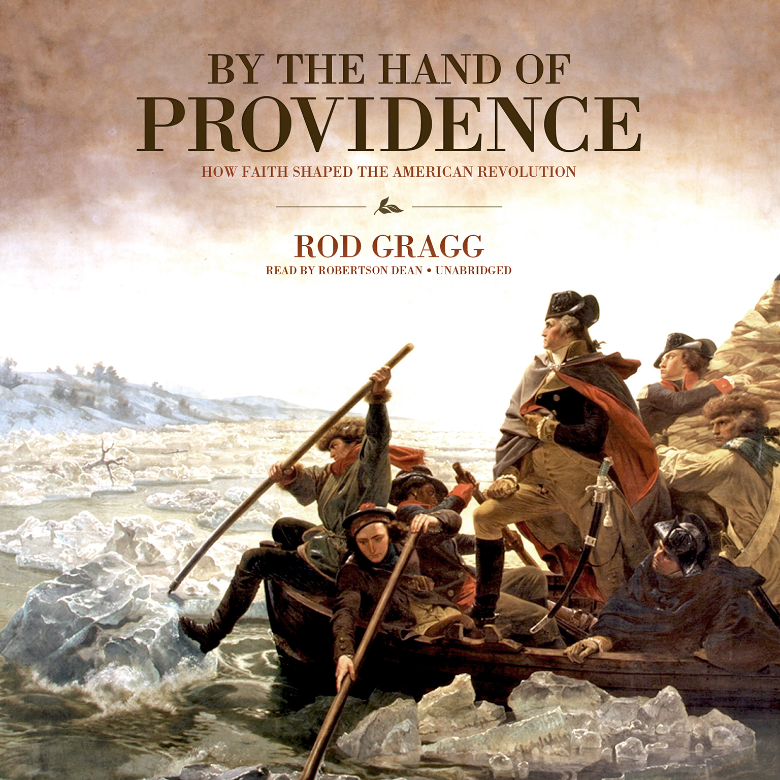 Printable By the Hand of Providence: How Faith Shaped the American Revolution Audiobook Cover Art