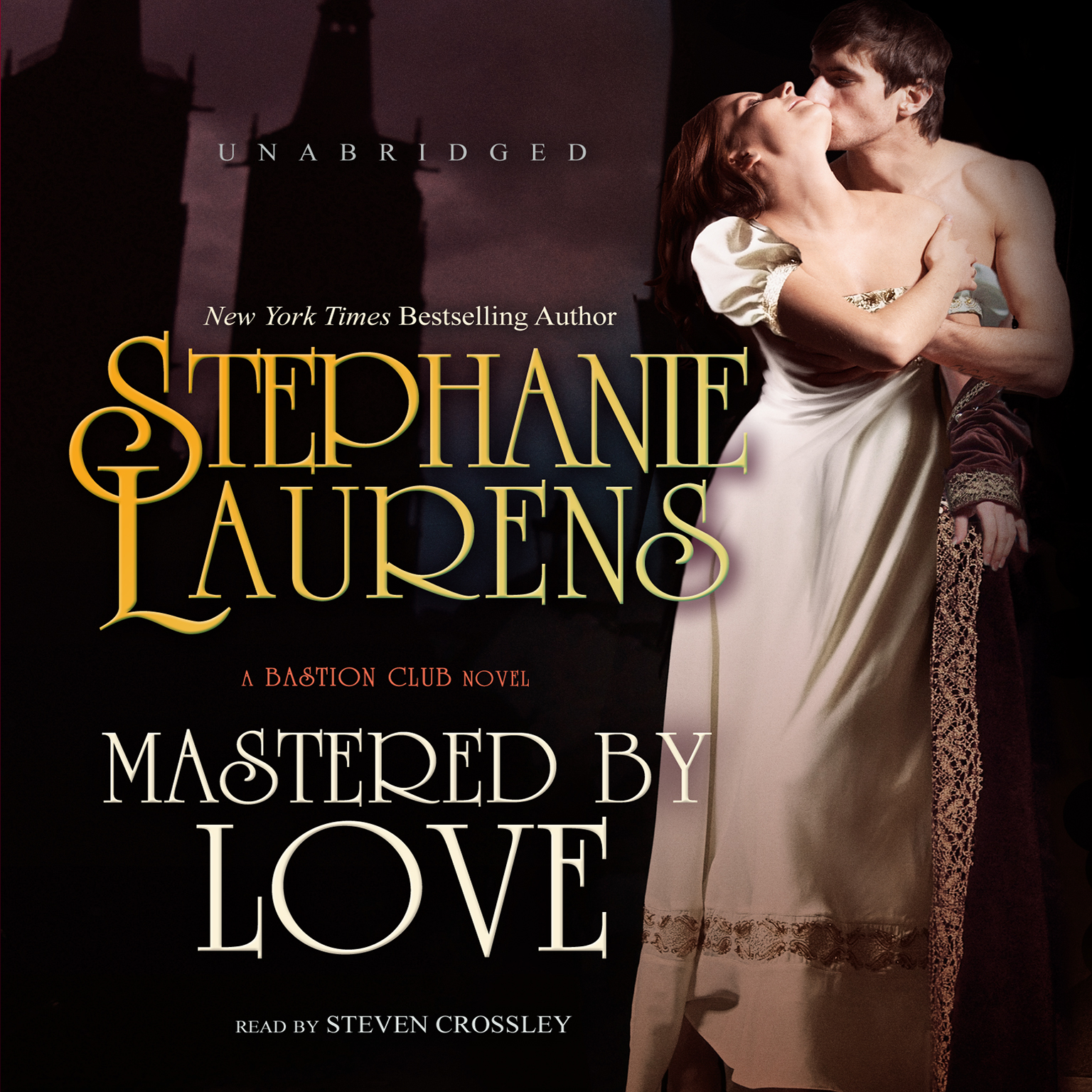 Printable Mastered by Love: A Bastion Club Novel Audiobook Cover Art