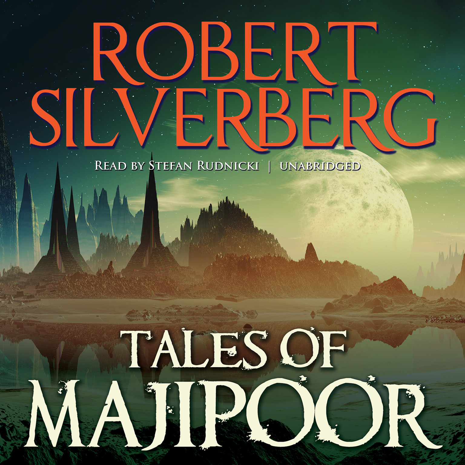 Printable Tales of Majipoor Audiobook Cover Art