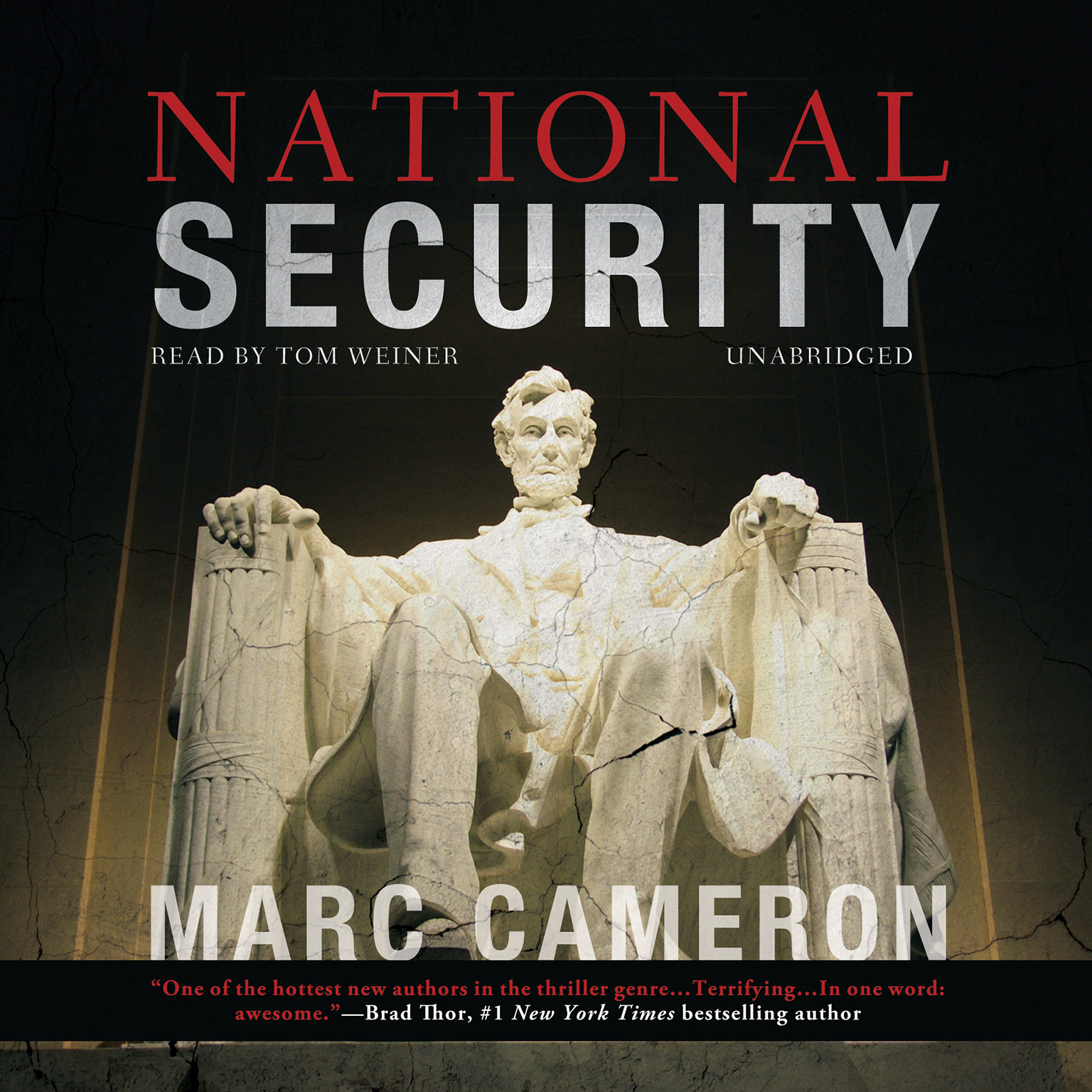 Printable National Security Audiobook Cover Art