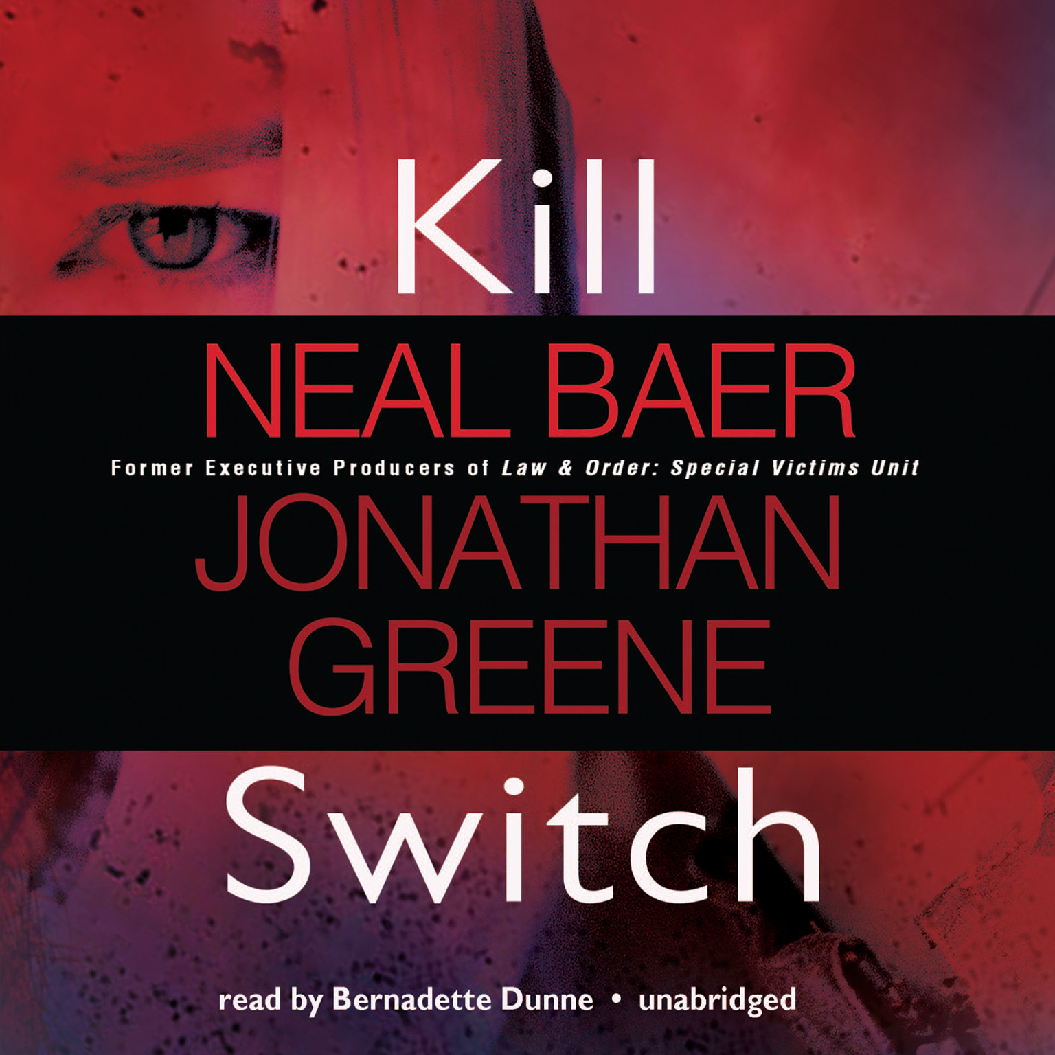 Printable Kill Switch Audiobook Cover Art