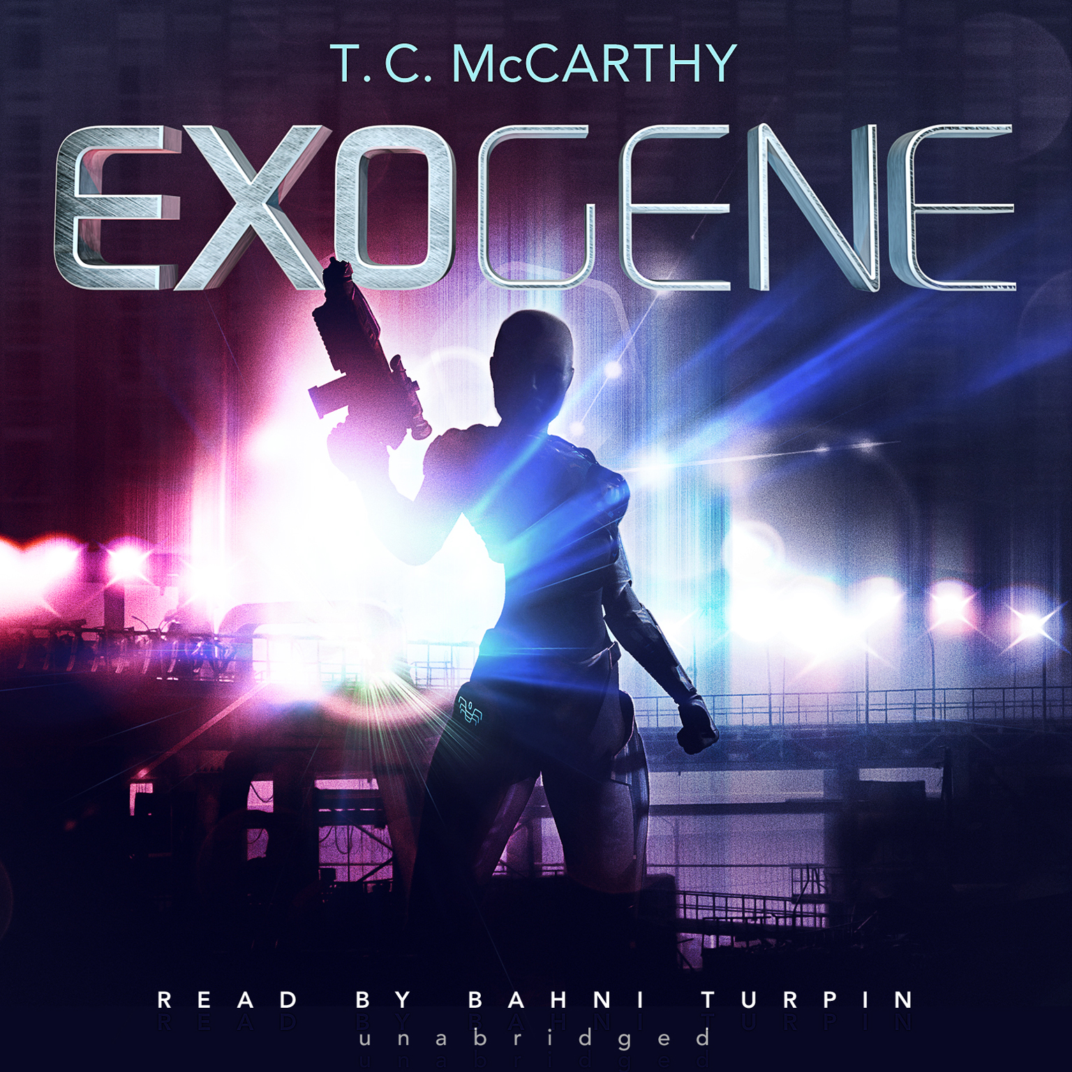 Printable Exogene Audiobook Cover Art