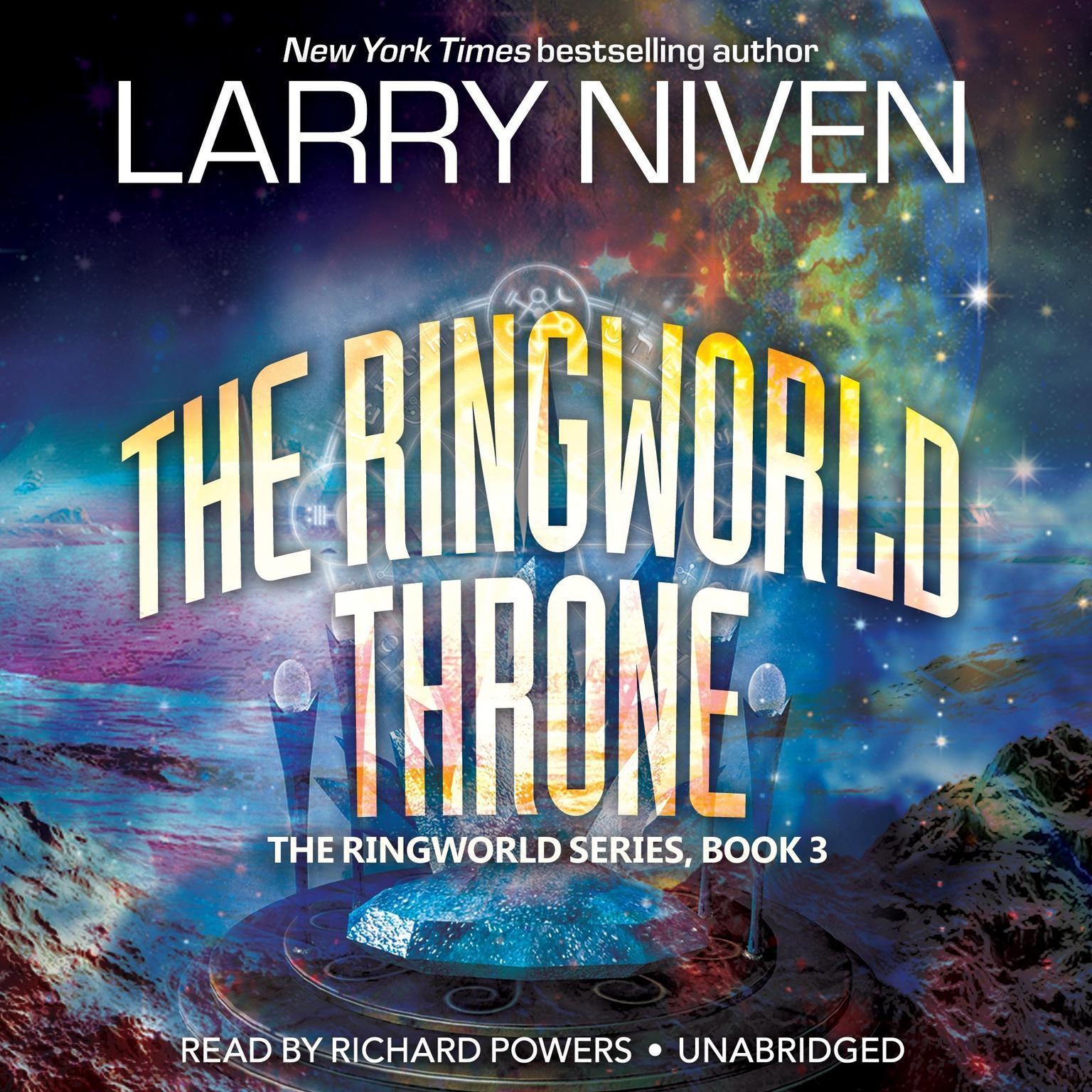 Printable The Ringworld Throne Audiobook Cover Art