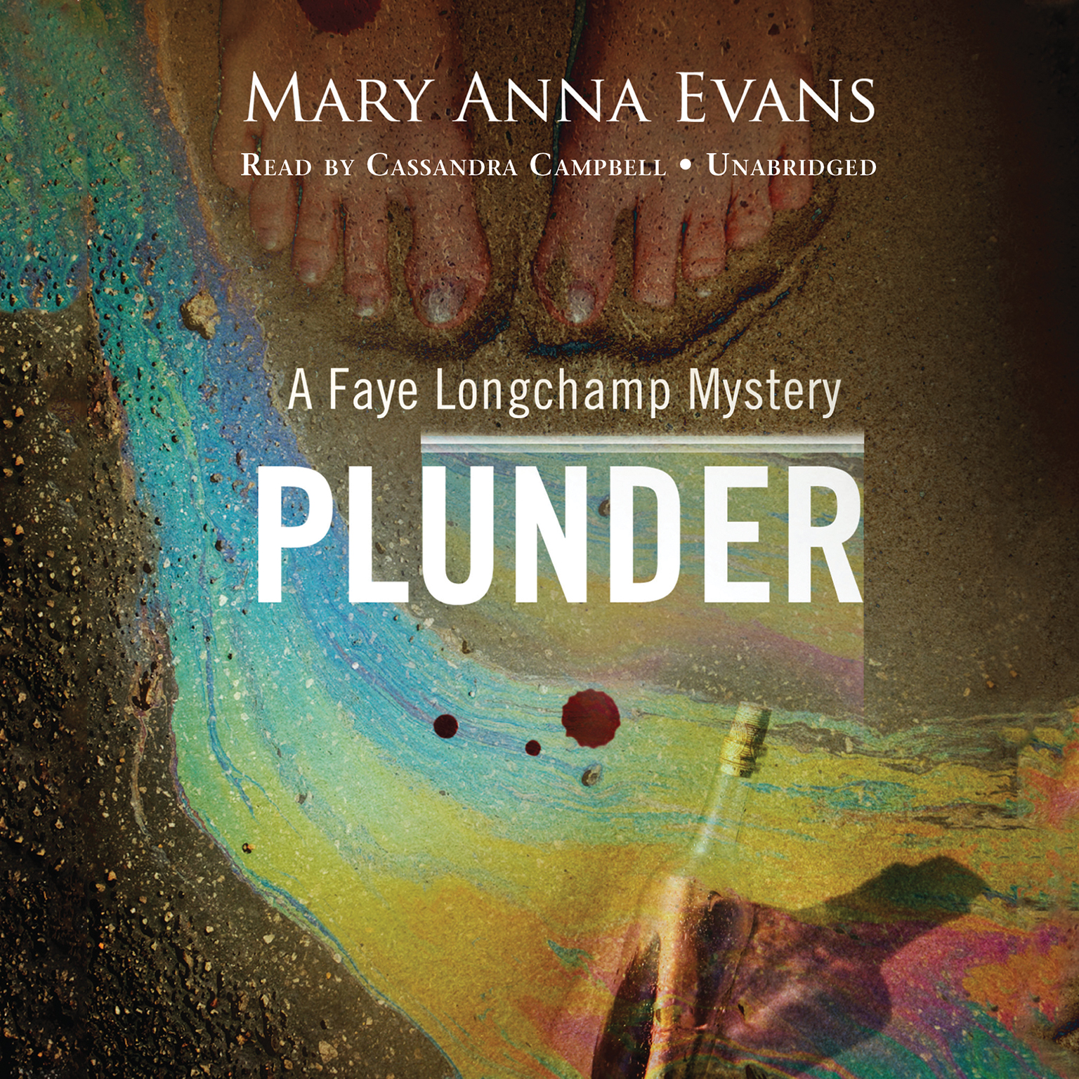 Printable Plunder: A Faye Longchamp Mystery Audiobook Cover Art