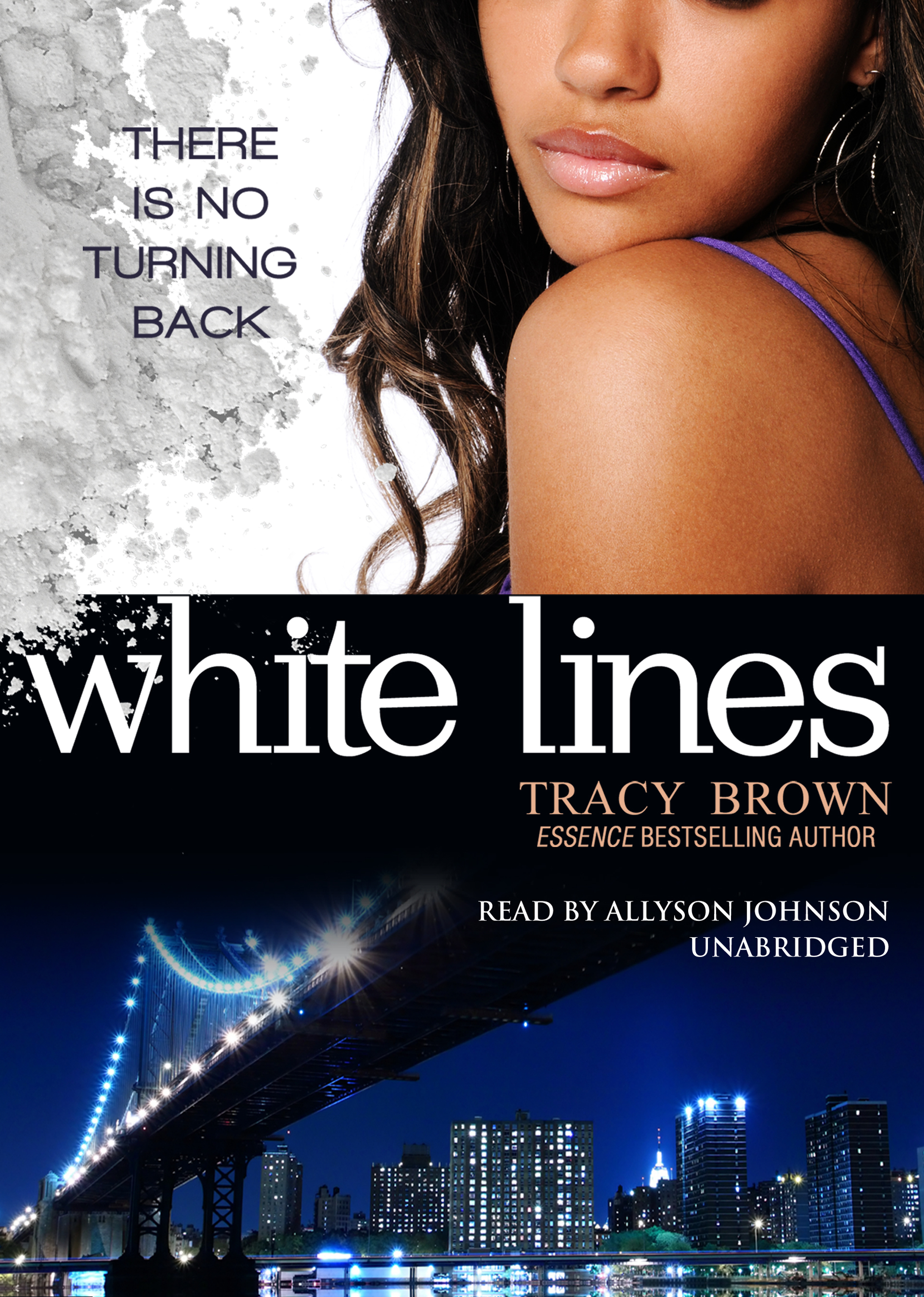 Printable White Lines Audiobook Cover Art