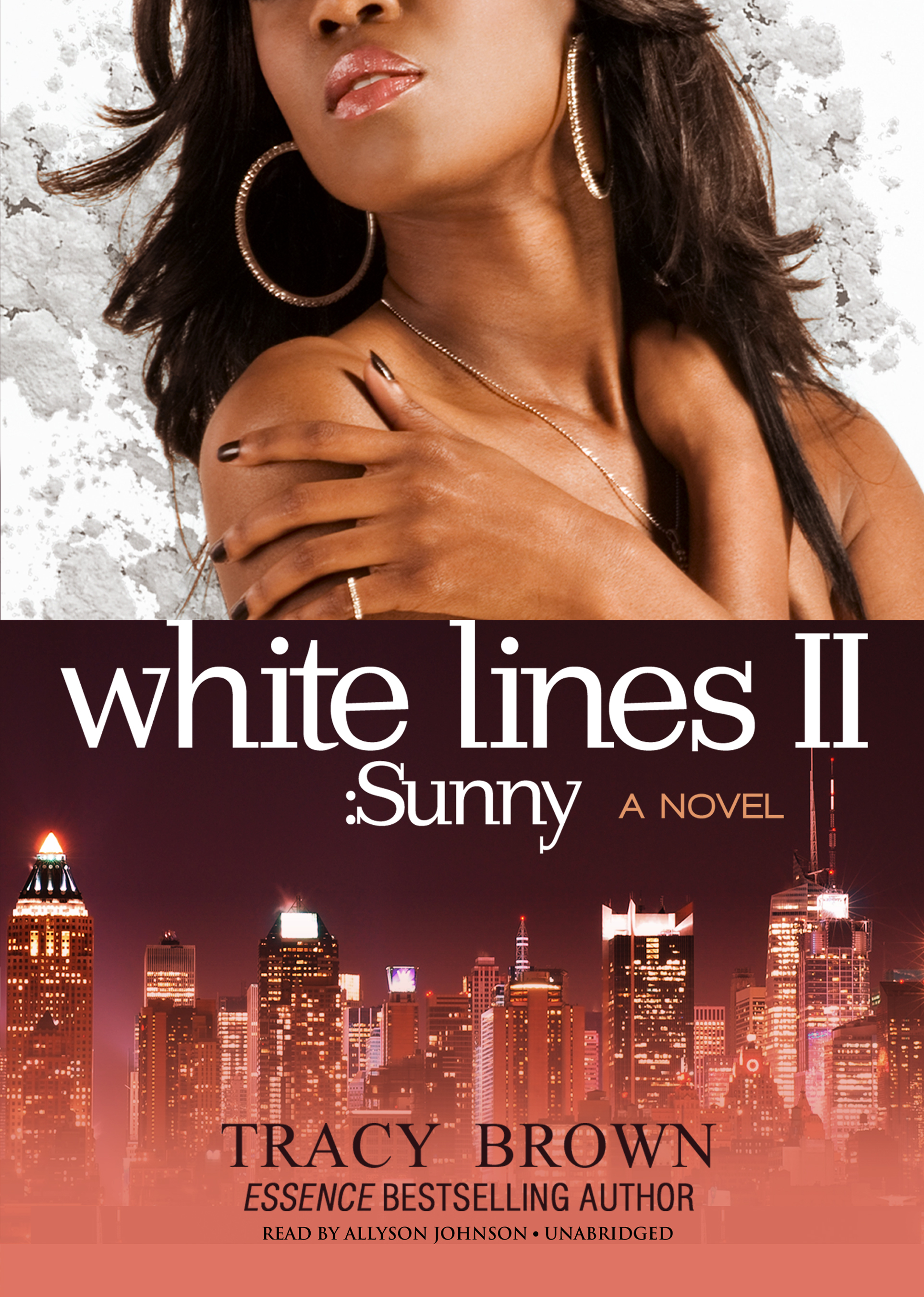 Printable White Lines II: Sunny; A Novel Audiobook Cover Art