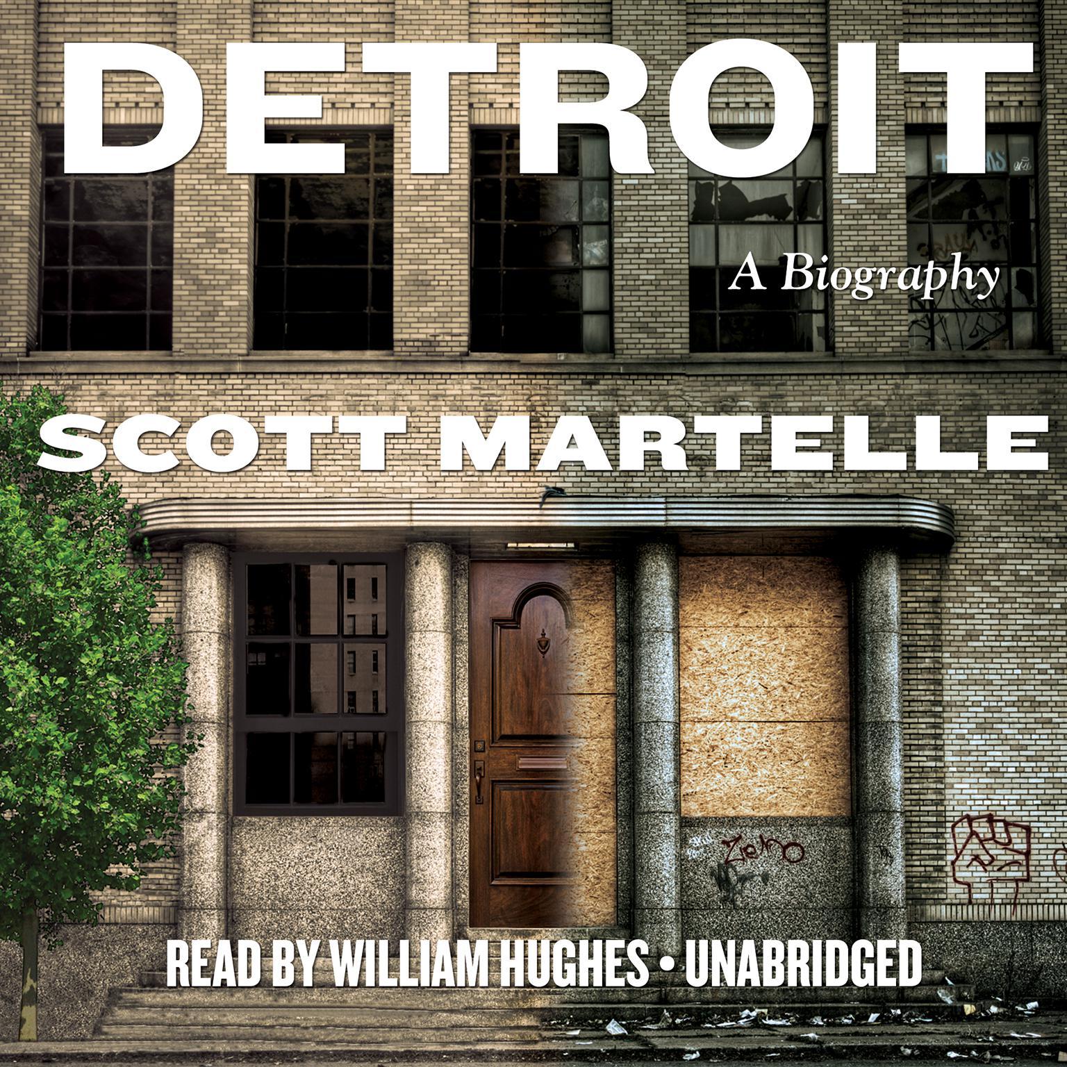 Printable Detroit: A Biography Audiobook Cover Art