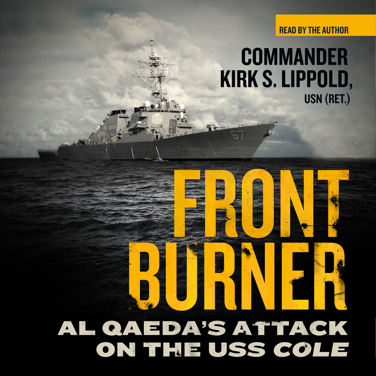 Printable Front Burner: Al Qaeda's Attack on the USS Cole Audiobook Cover Art