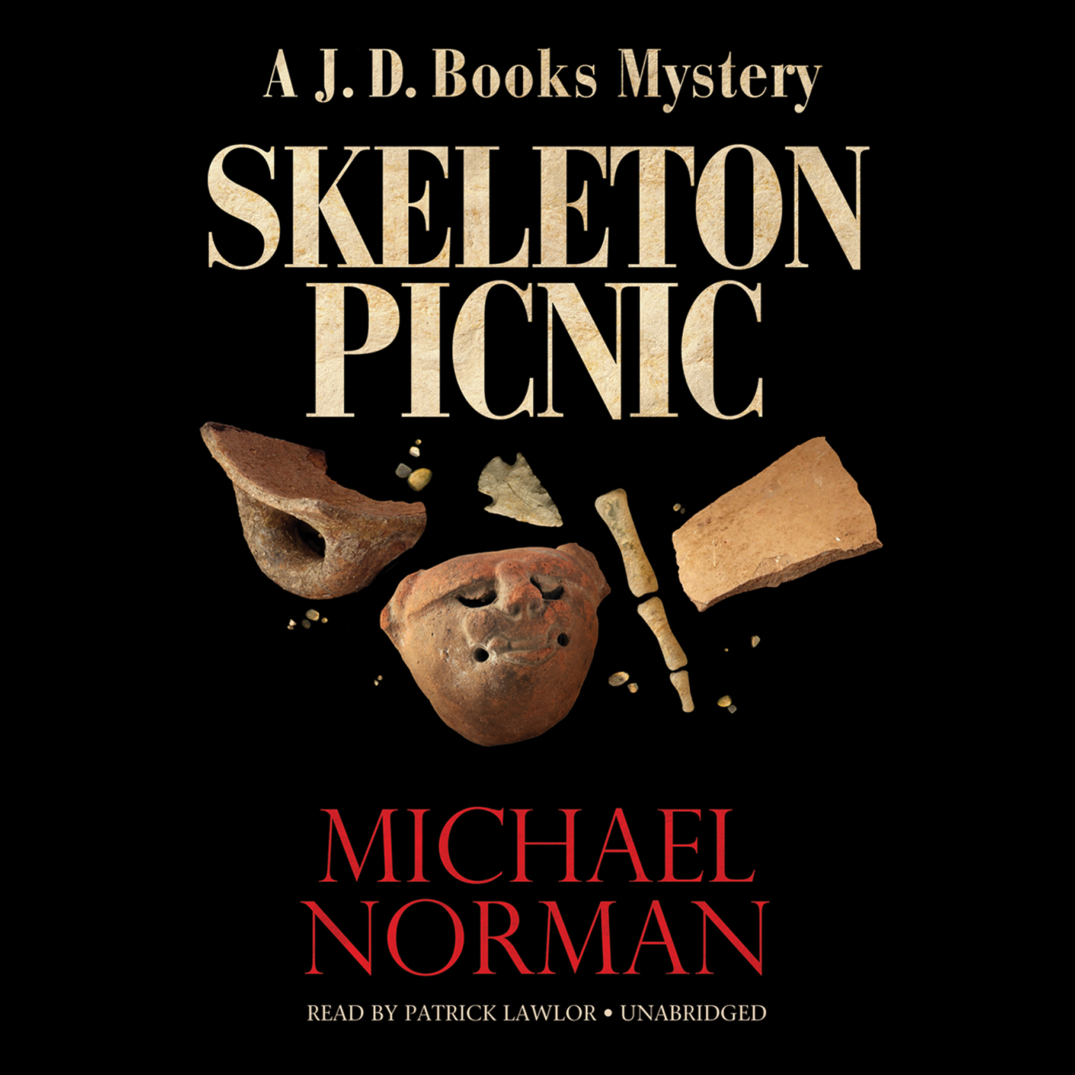 Printable Skeleton Picnic: A J. D. Books Mystery Audiobook Cover Art