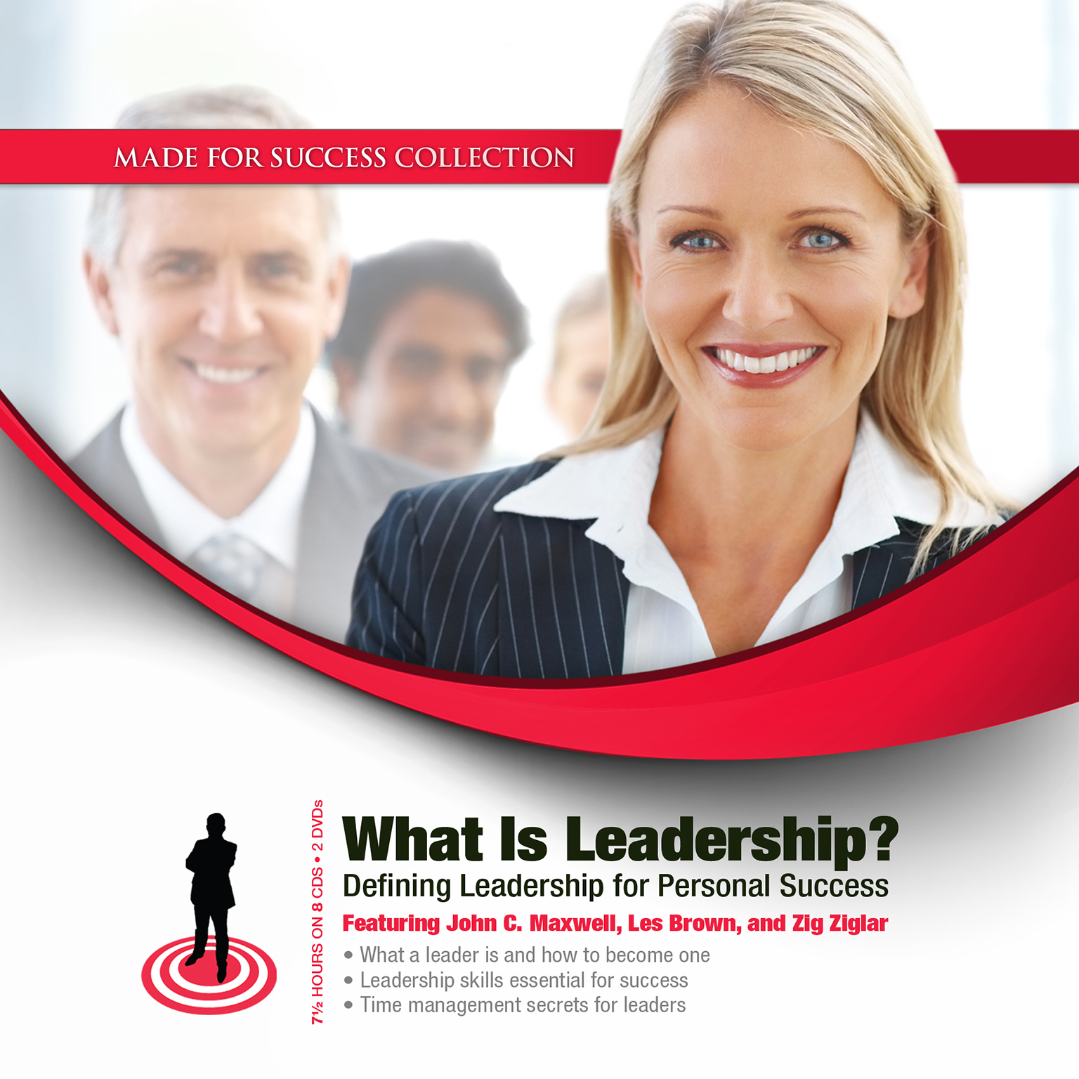Printable What Is Leadership?: Defining Leadership for Personal Success Audiobook Cover Art