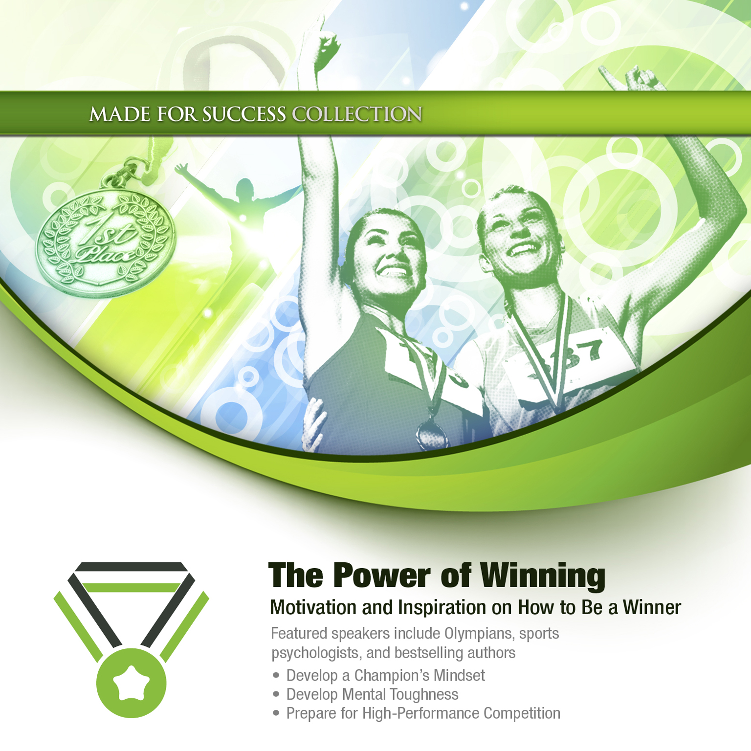 Printable The Power of Winning: Motivation and Inspiration on How to Be a Winner Audiobook Cover Art