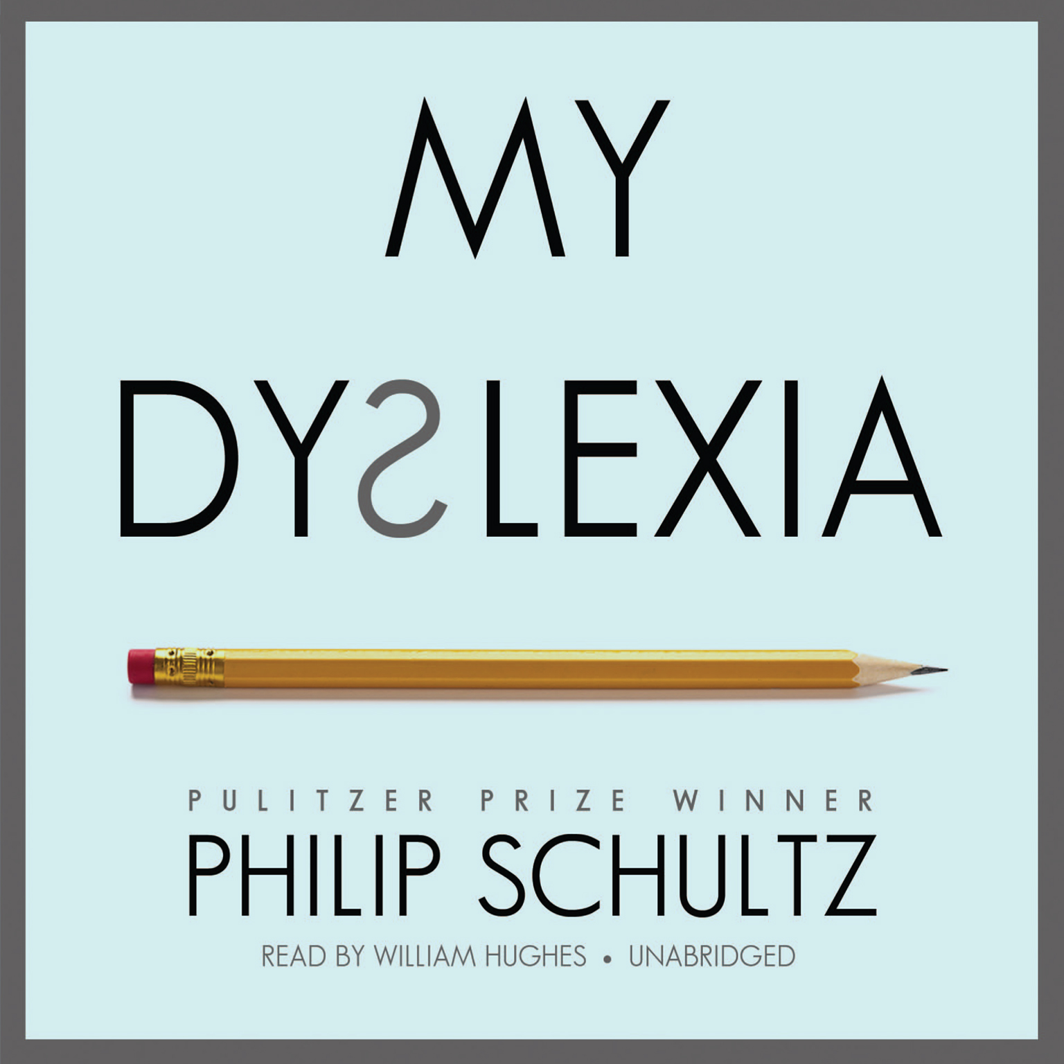 Printable My Dyslexia Audiobook Cover Art