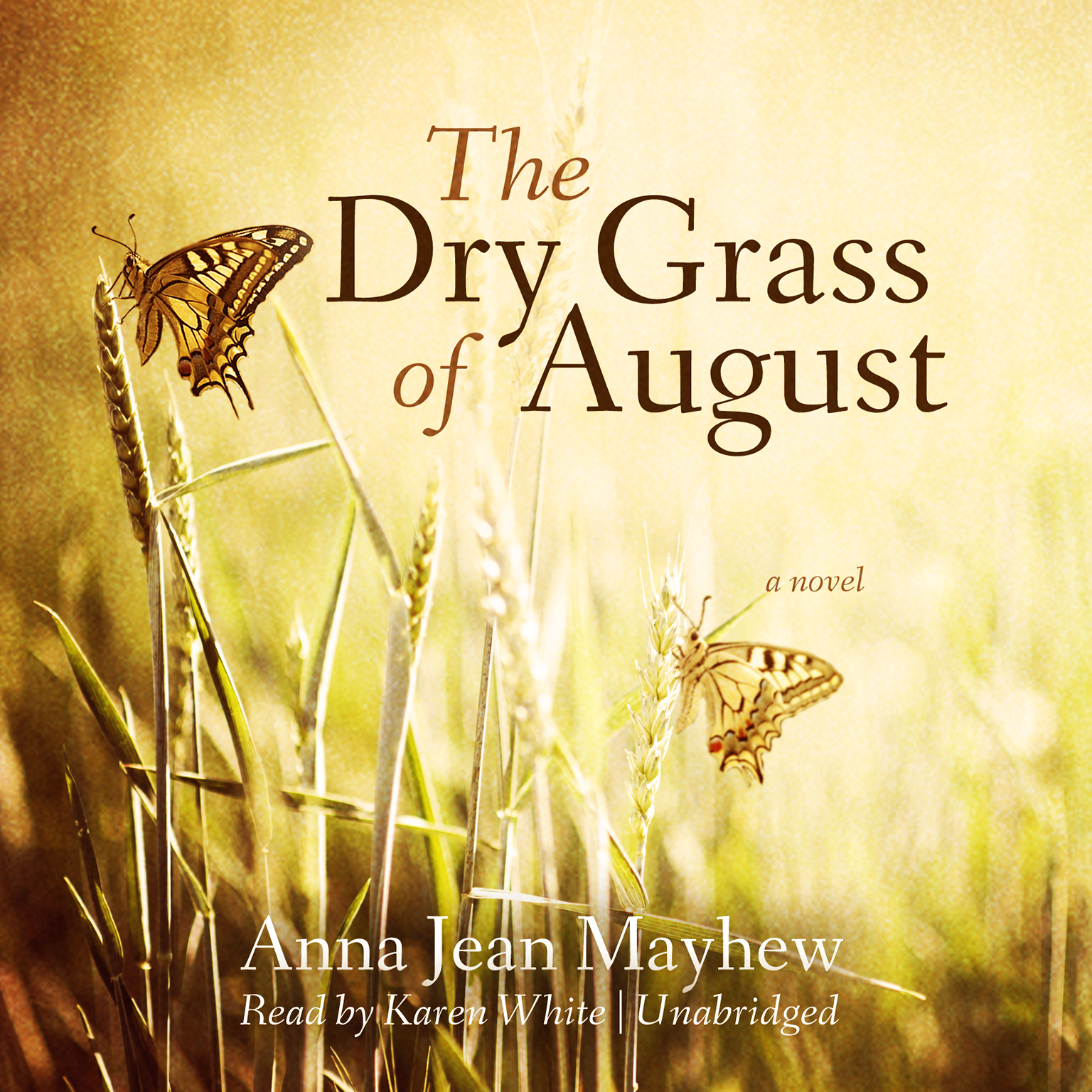 Printable The Dry Grass of August Audiobook Cover Art