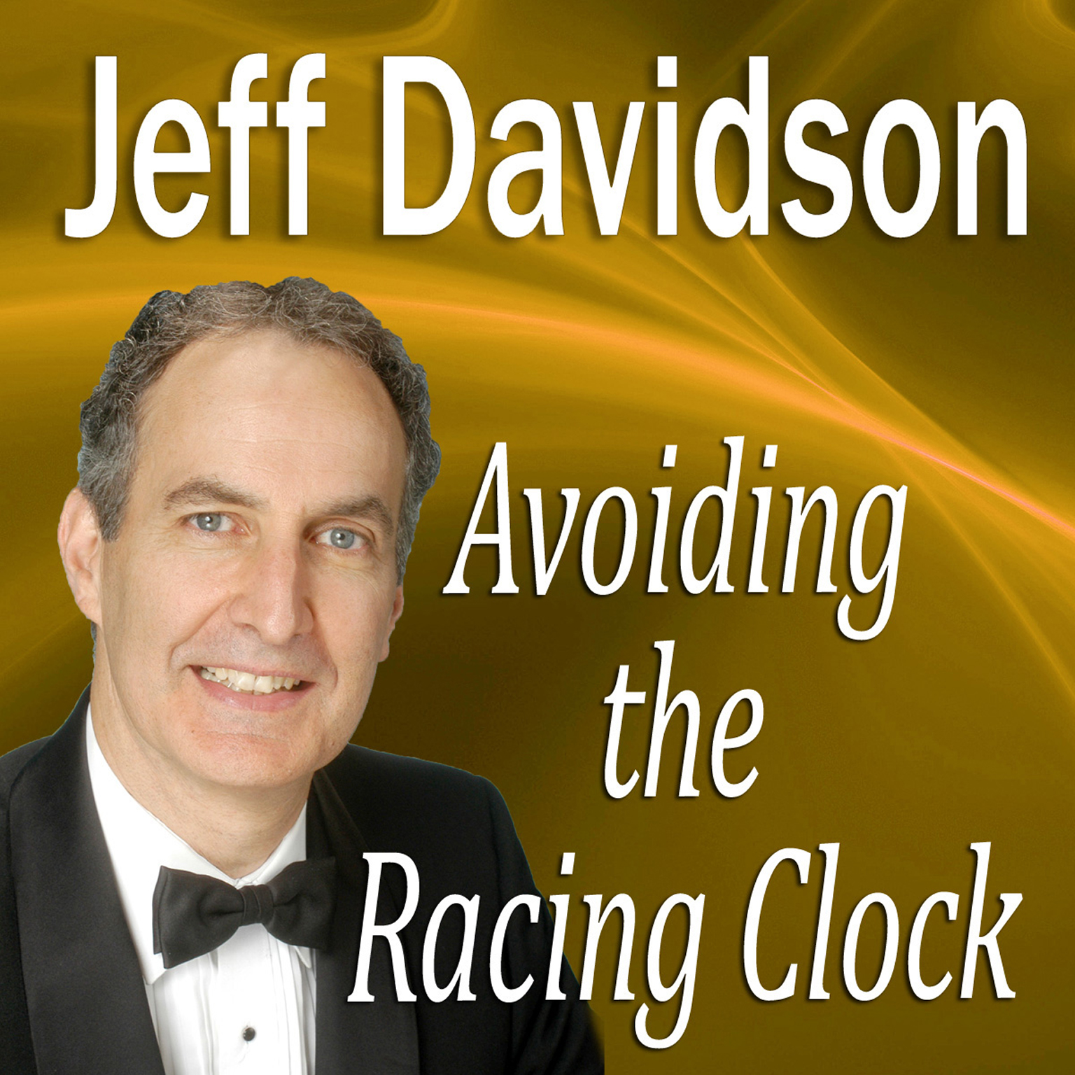 Printable Avoiding the Racing Clock Audiobook Cover Art