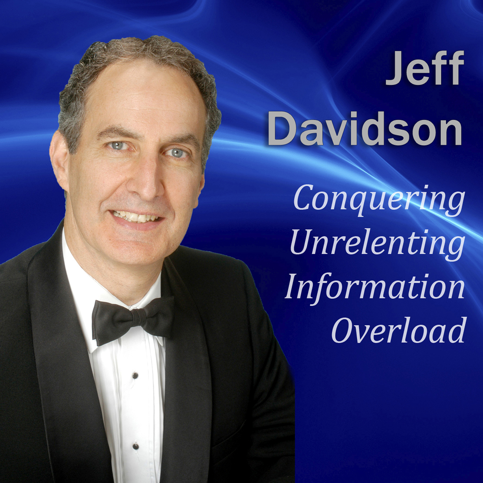 Printable Conquering Unrelenting Information Overload Audiobook Cover Art