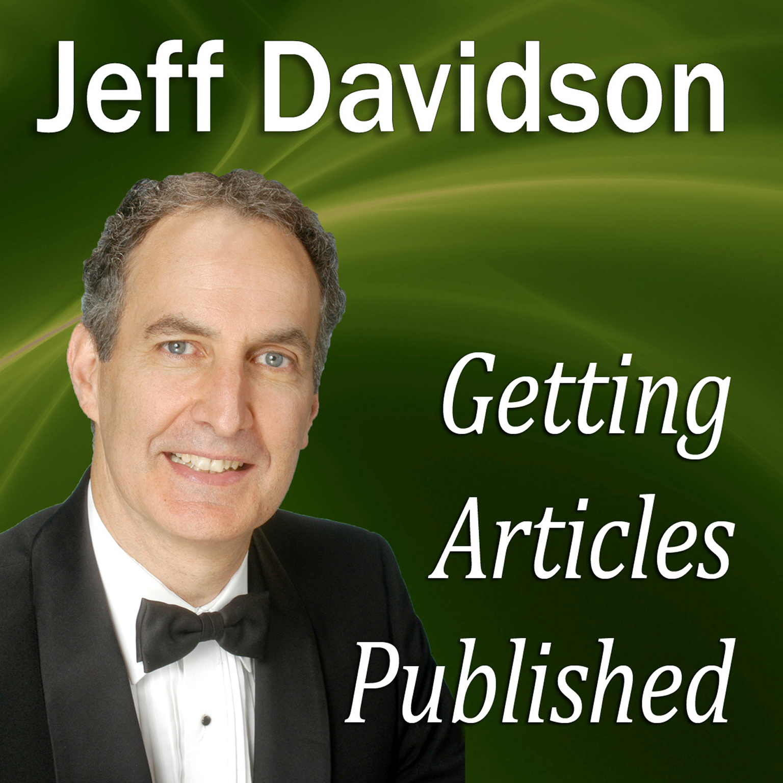 Printable Getting Articles Published Audiobook Cover Art