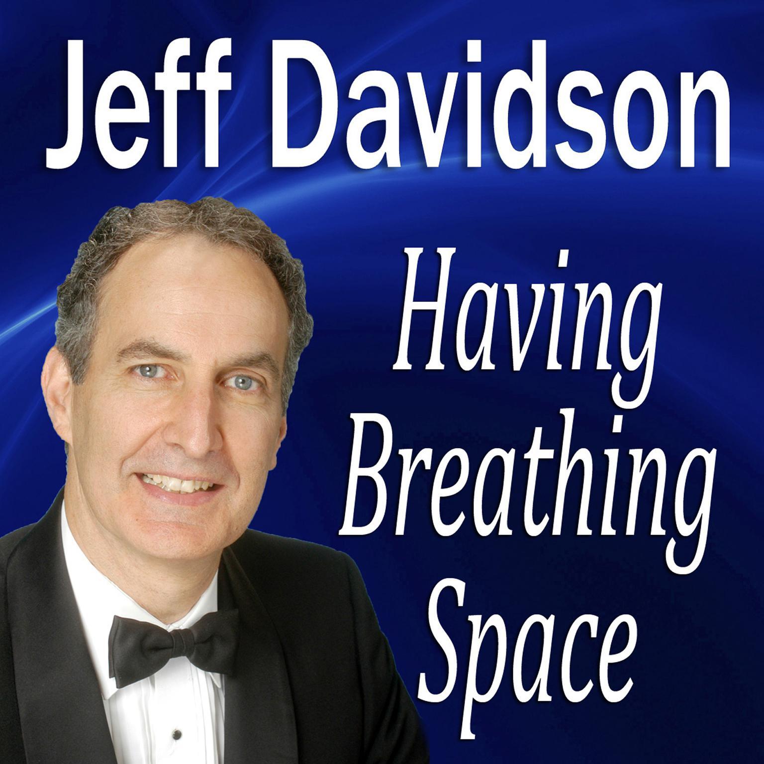 Printable Having Breathing Space Audiobook Cover Art