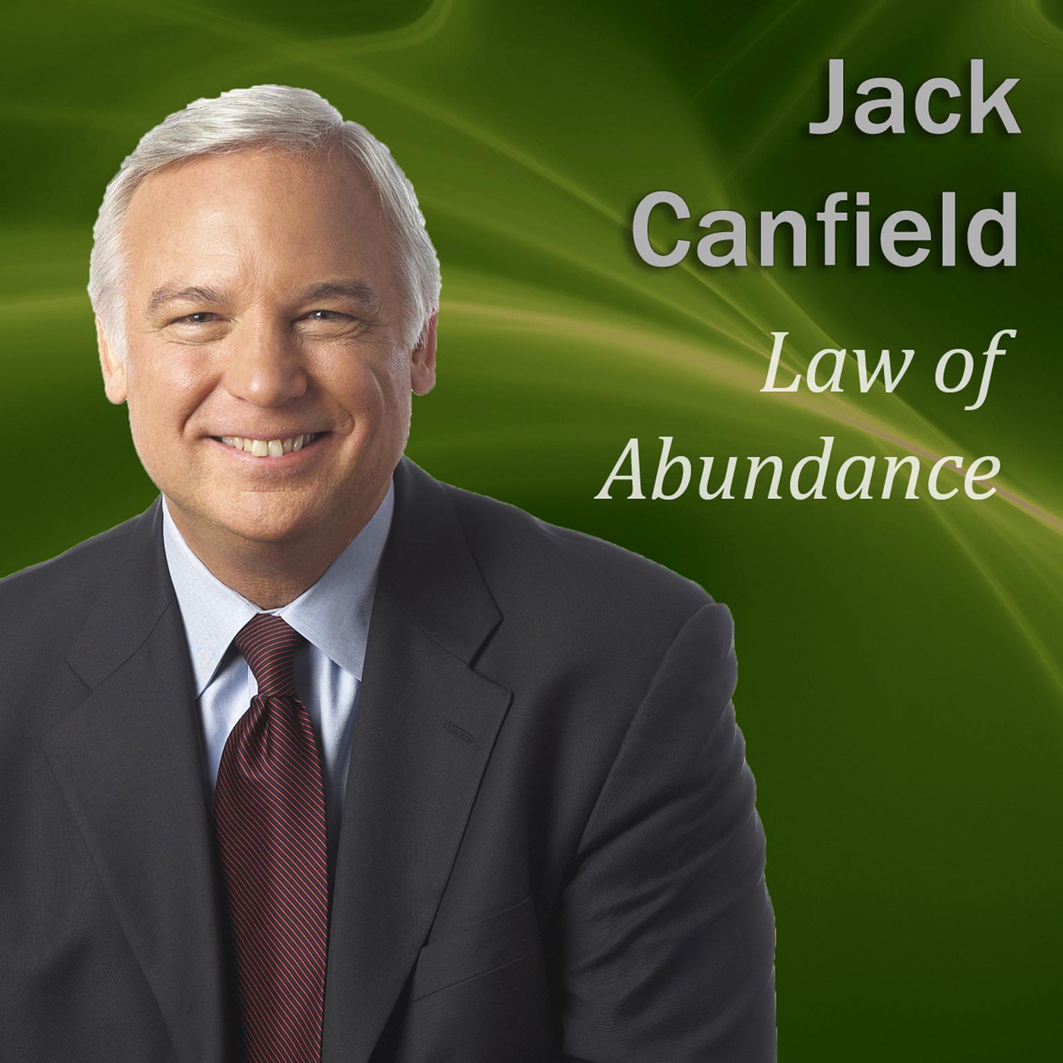 Printable Law of Abundance Audiobook Cover Art