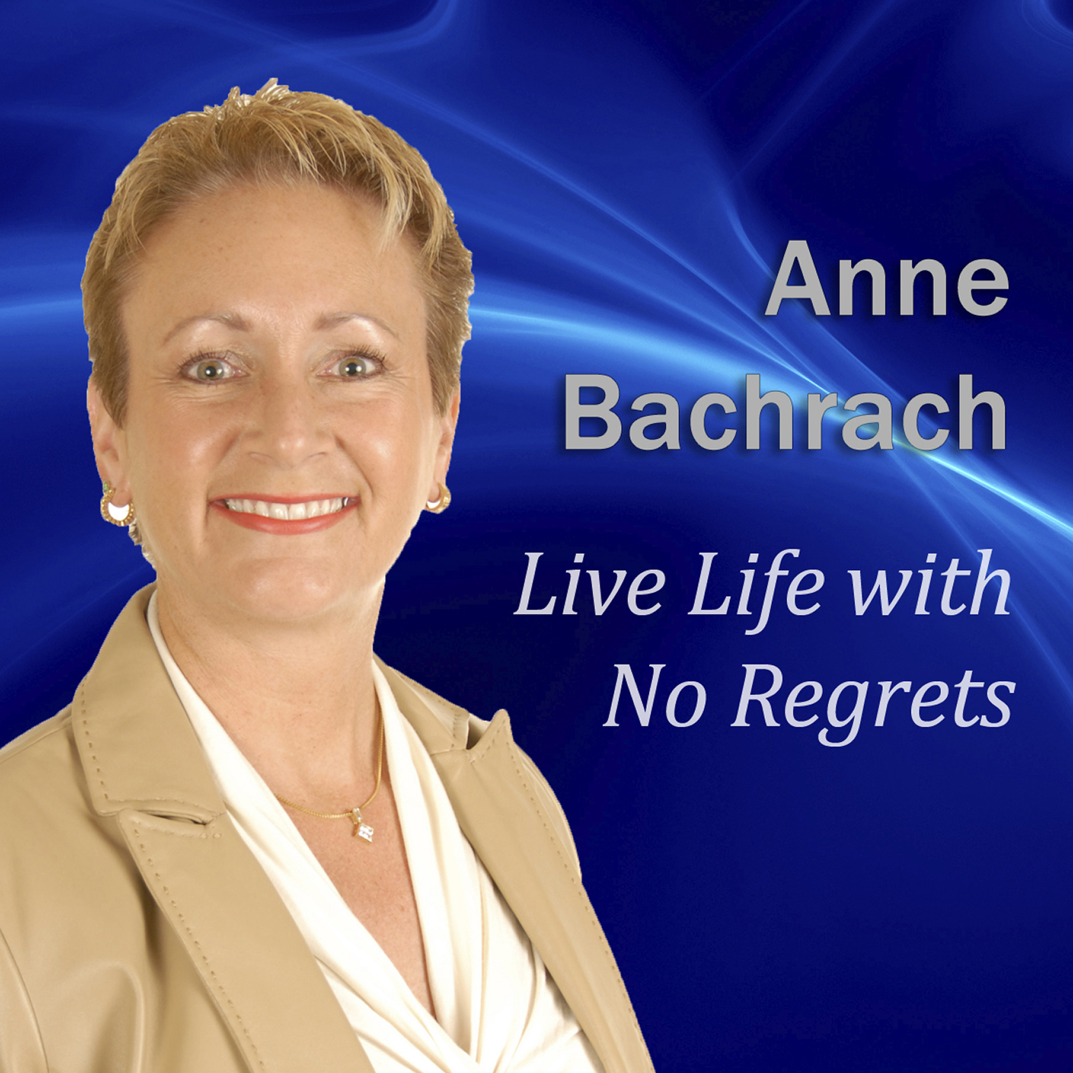 Printable Live Life with No Regrets Audiobook Cover Art