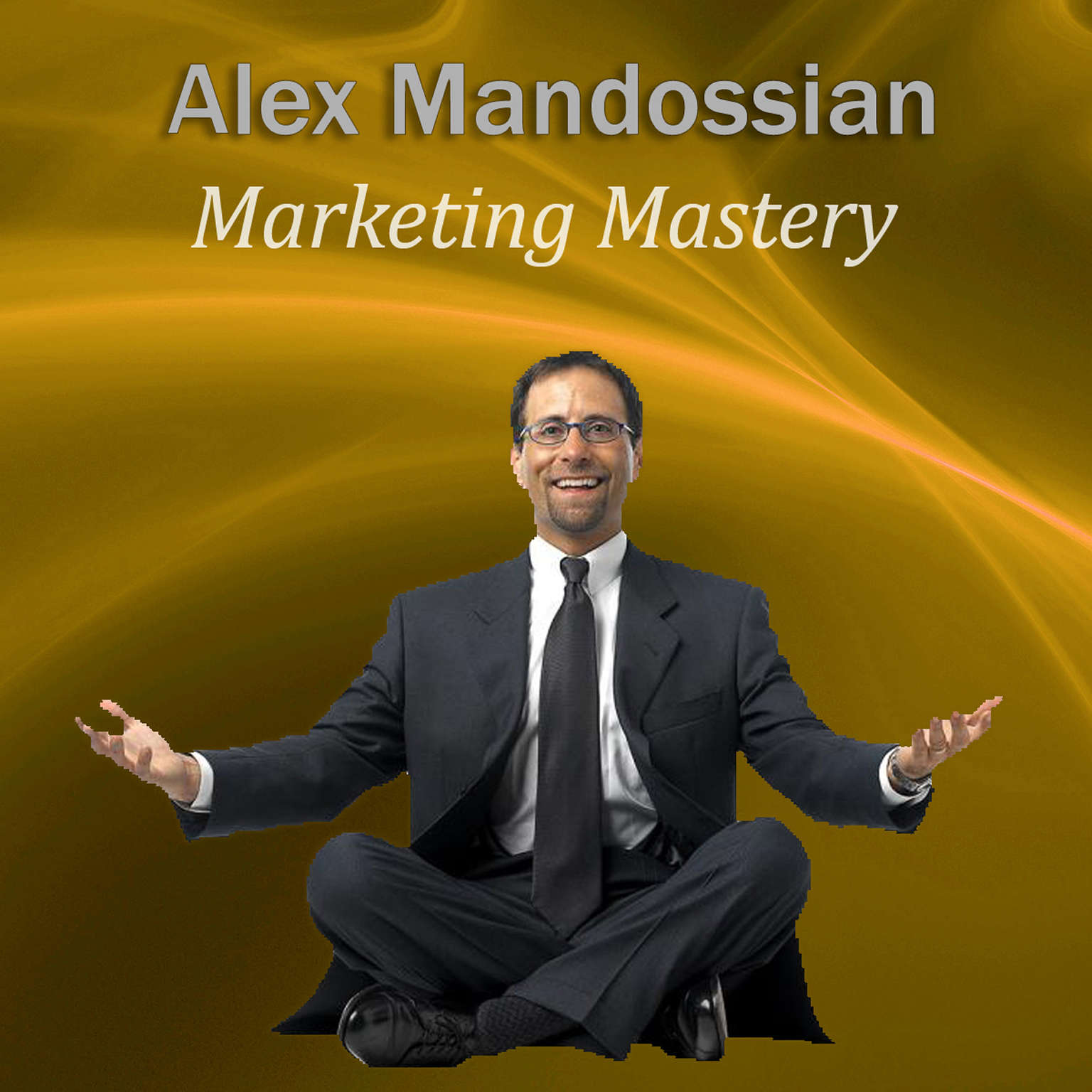 Printable Marketing Mastery Audiobook Cover Art