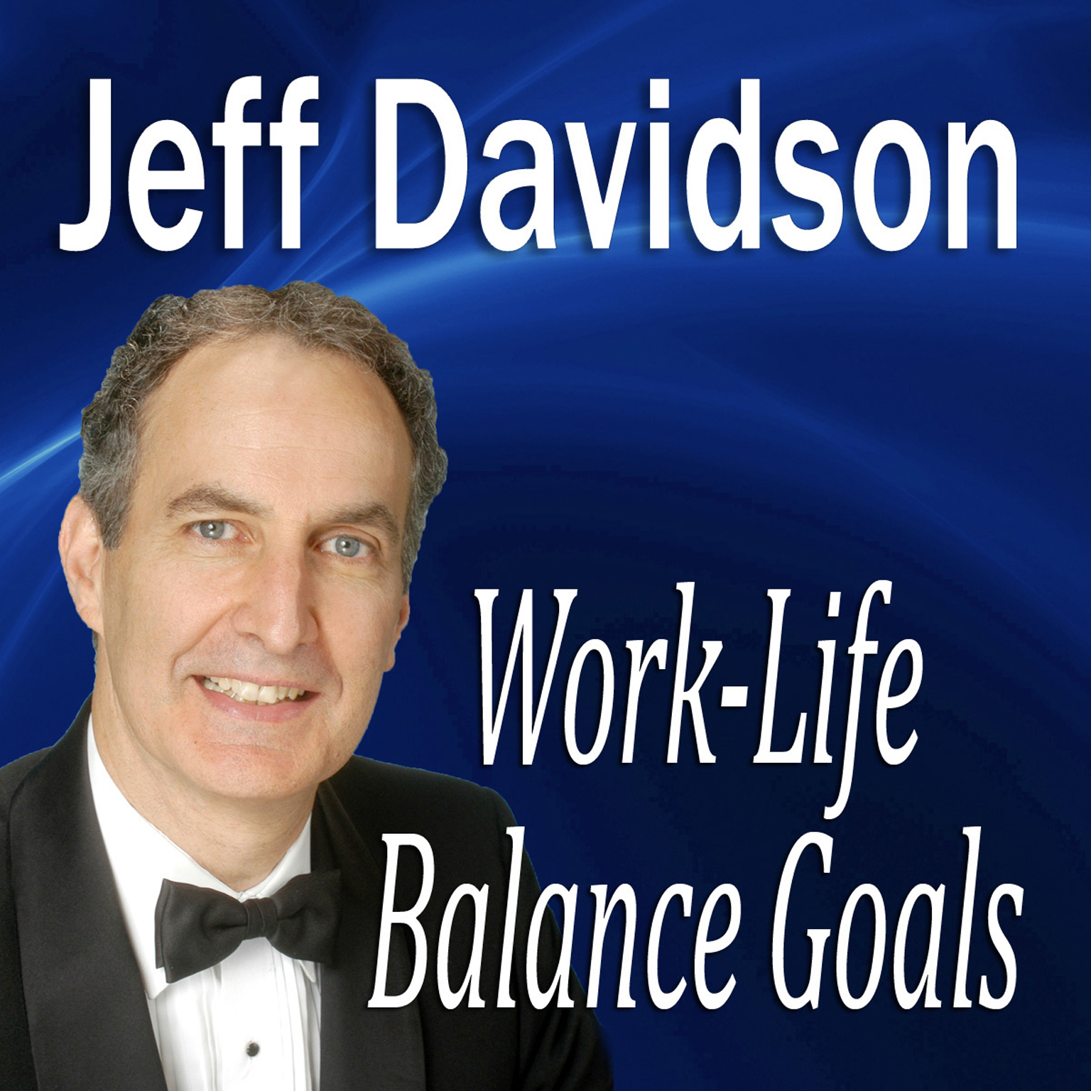 Printable Work-Life Balance Goals Audiobook Cover Art