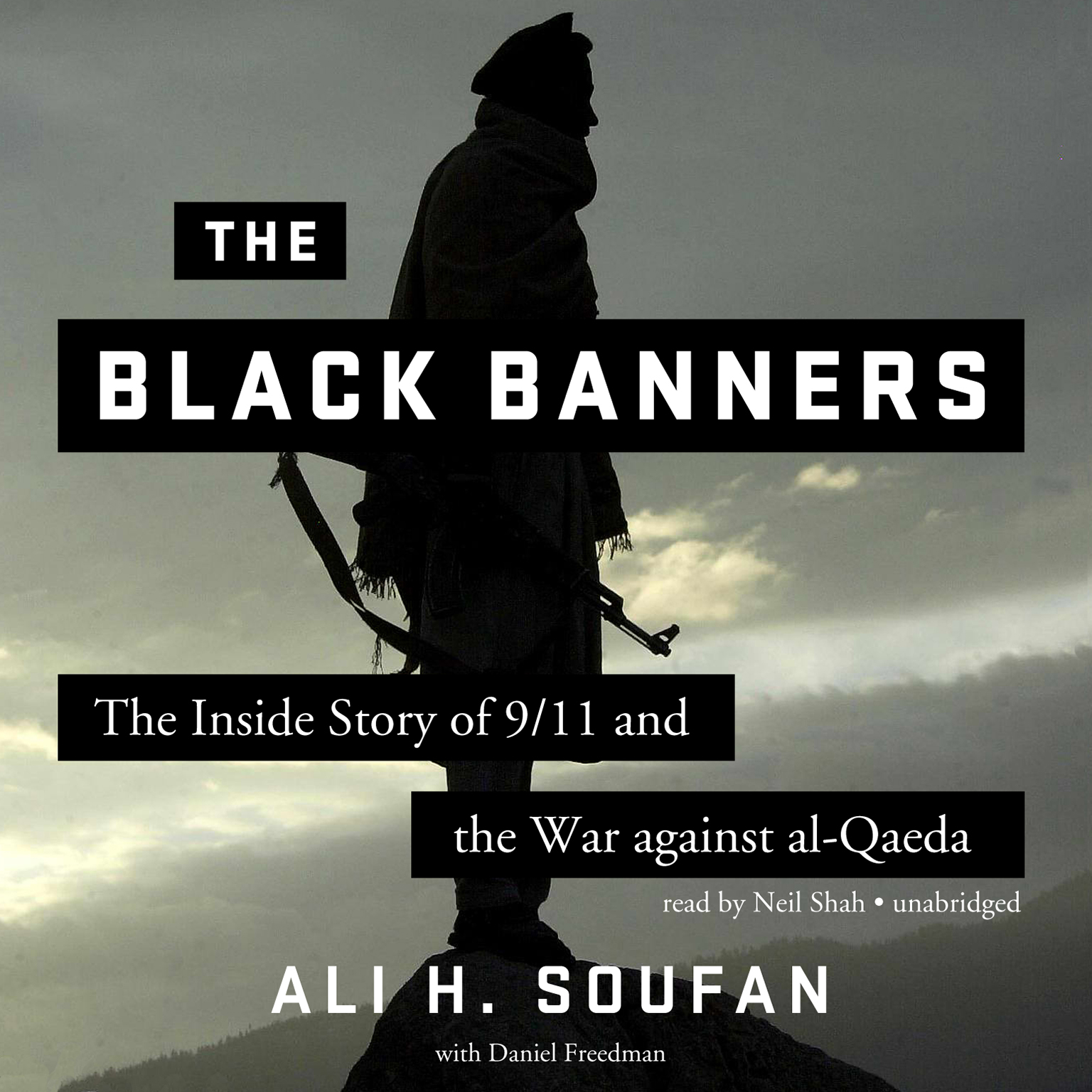 Printable The Black Banners: The Inside Story of 9/11 and the War against al-Qaeda Audiobook Cover Art