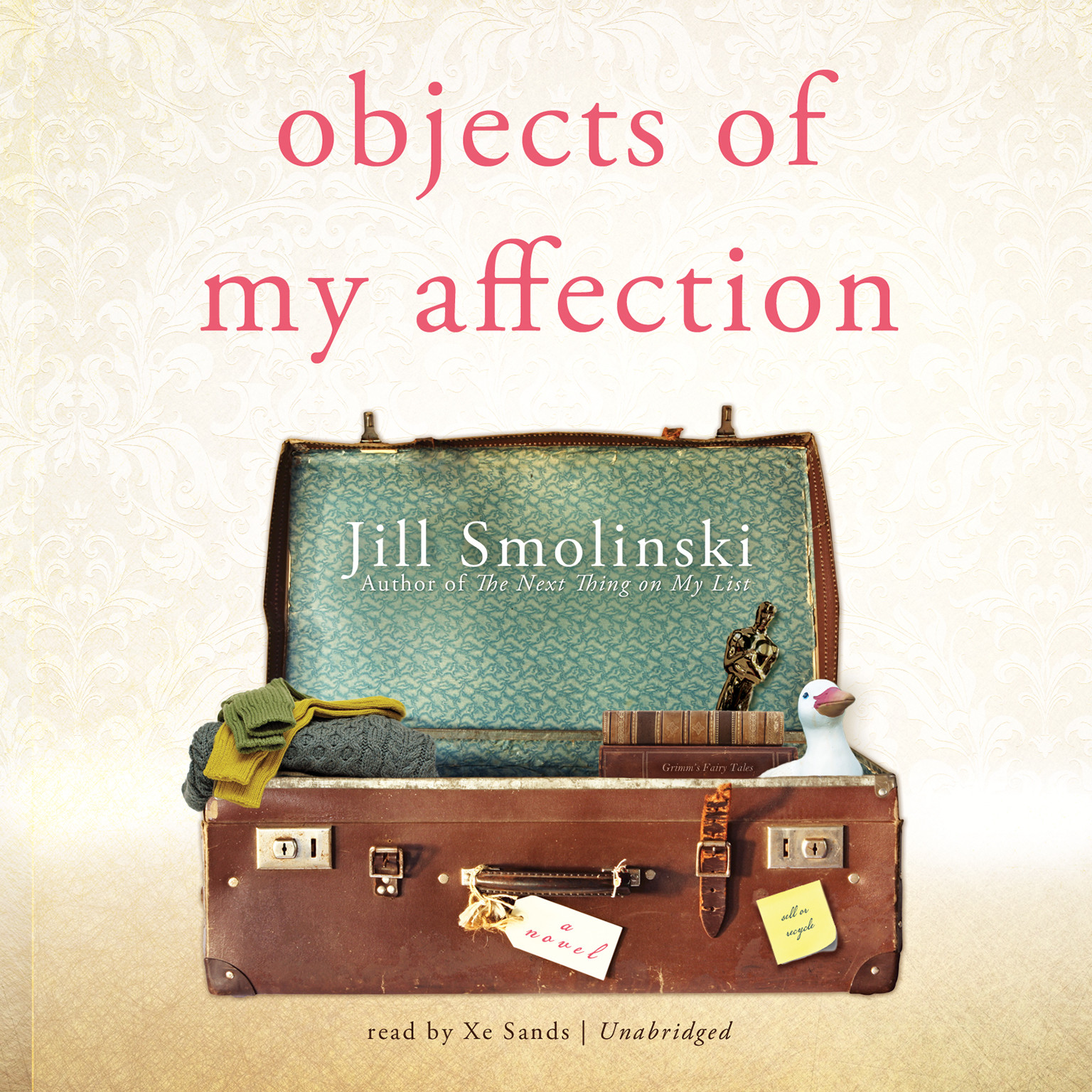Printable Objects of My Affection Audiobook Cover Art