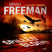 Spilled Blood: A Novel, by Brian Freeman