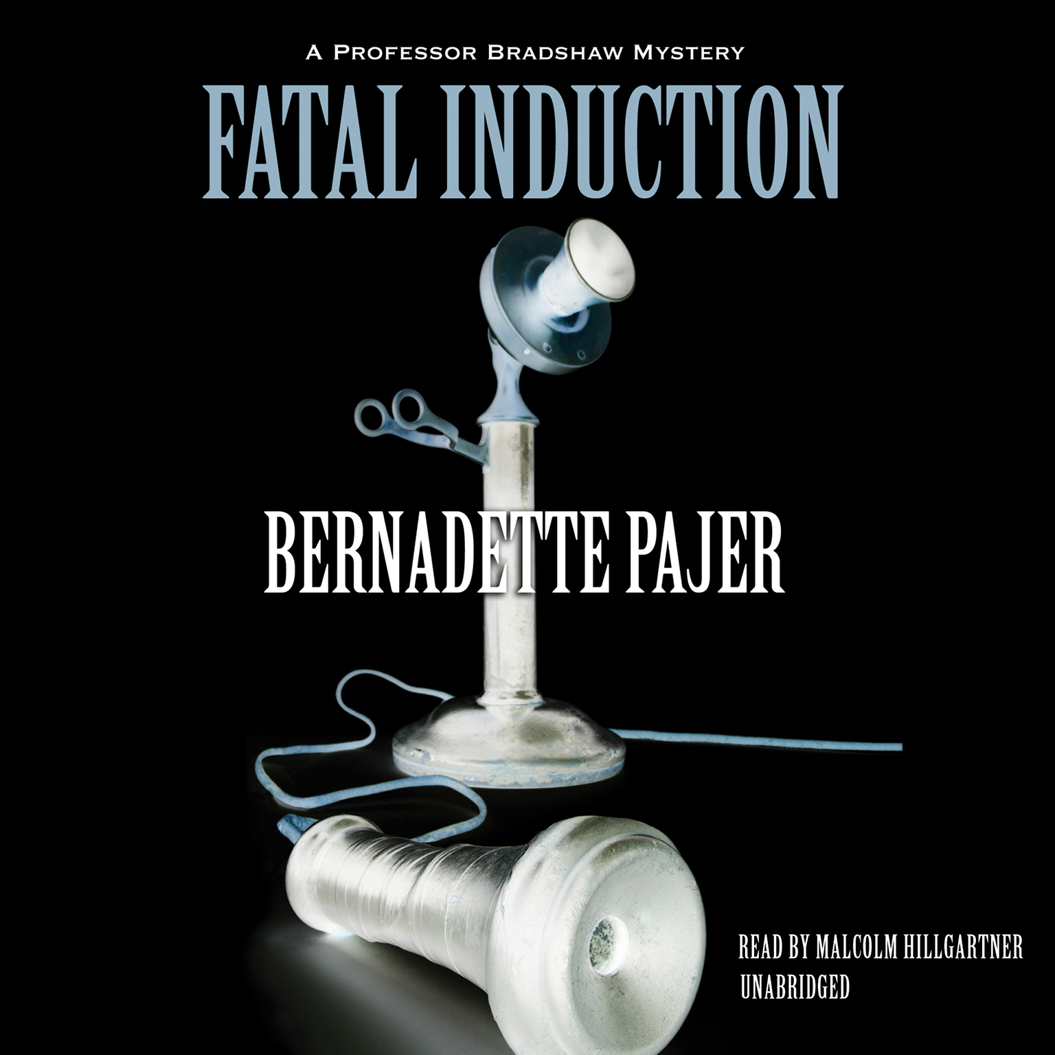 Printable Fatal Induction: A Professor Bradshaw Mystery Audiobook Cover Art