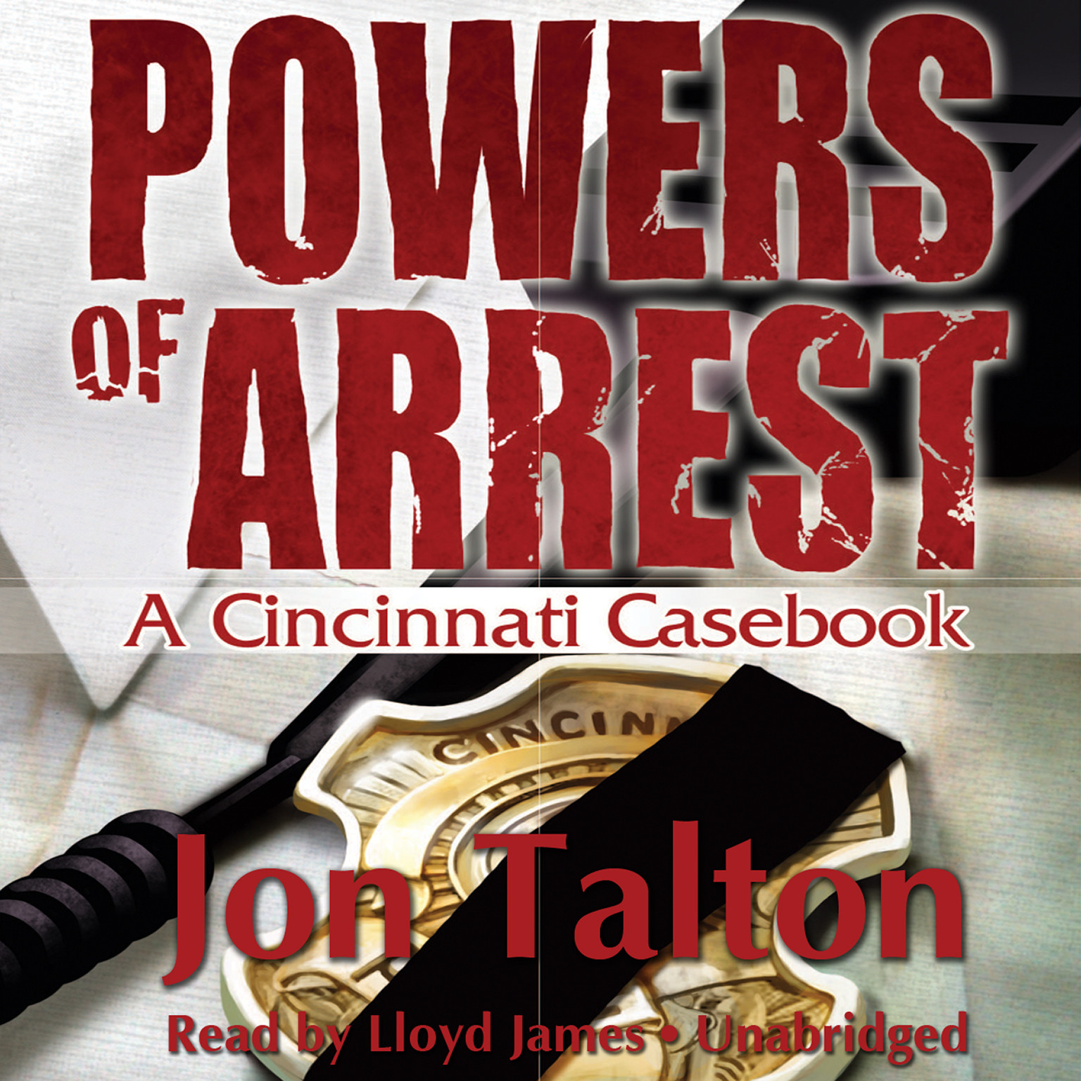 Printable Powers of Arrest: A Cincinnati Casebook Audiobook Cover Art