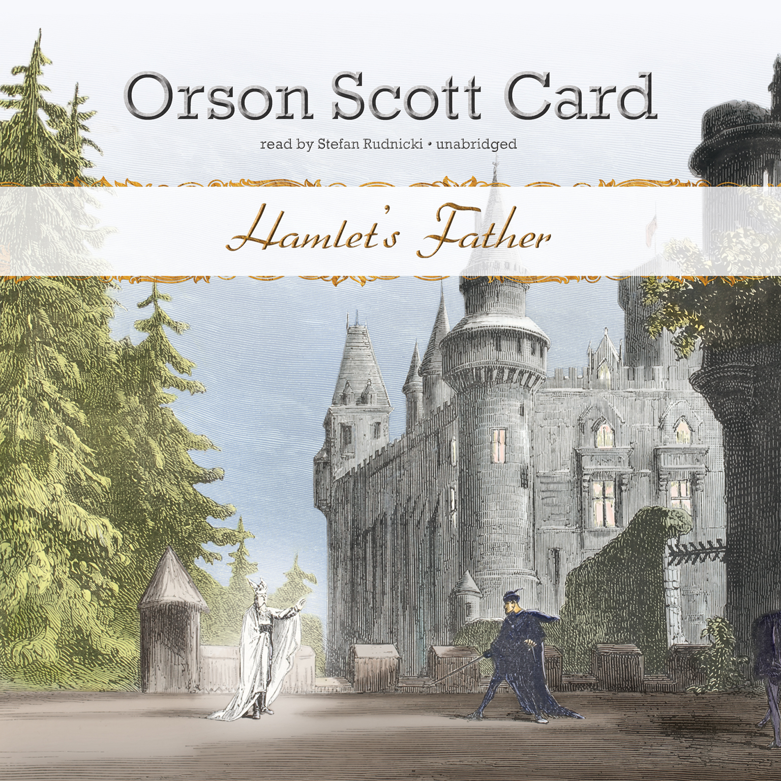 Printable Hamlet's Father Audiobook Cover Art