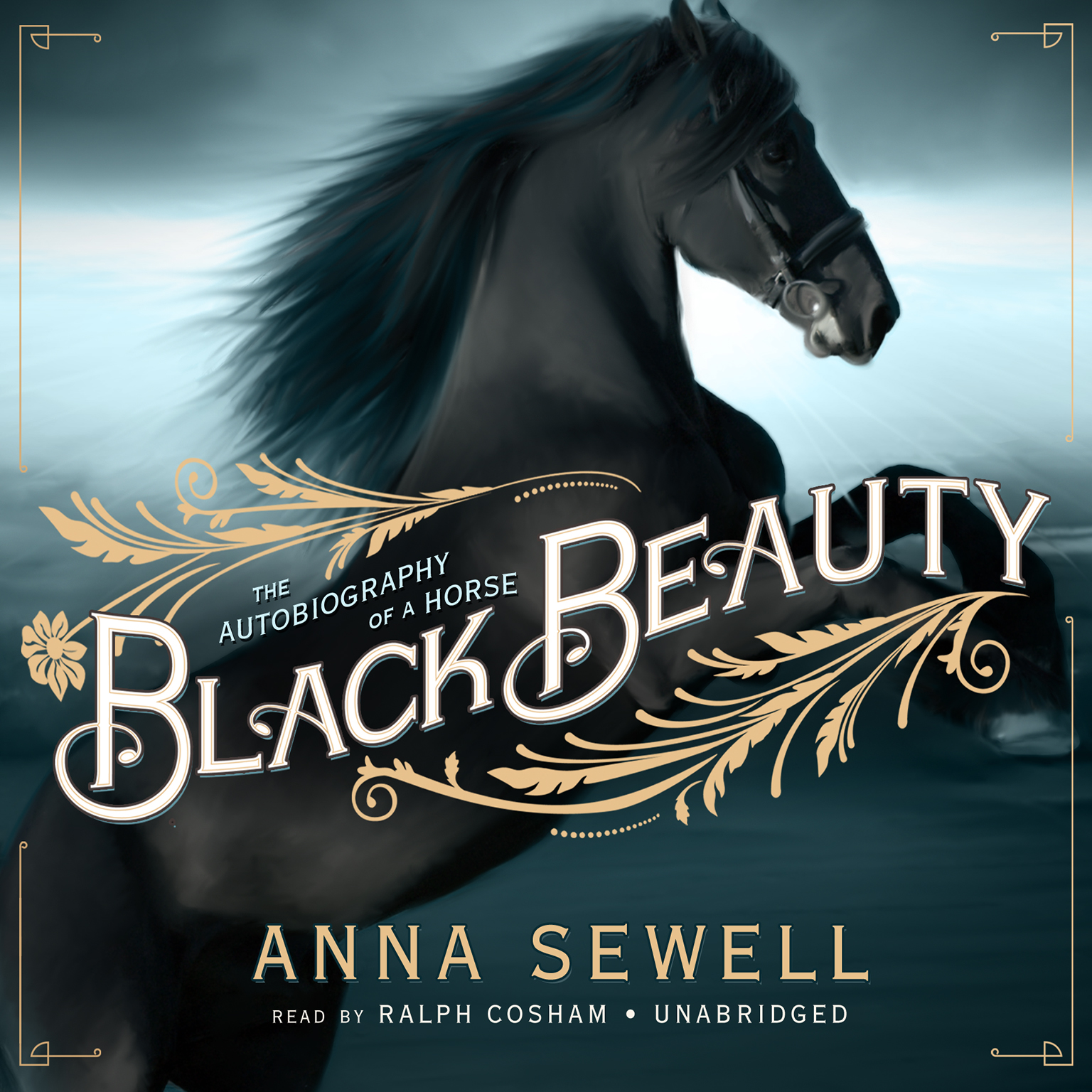Book Cover Of Black Beauty : Black beauty audiobook by anna sewell