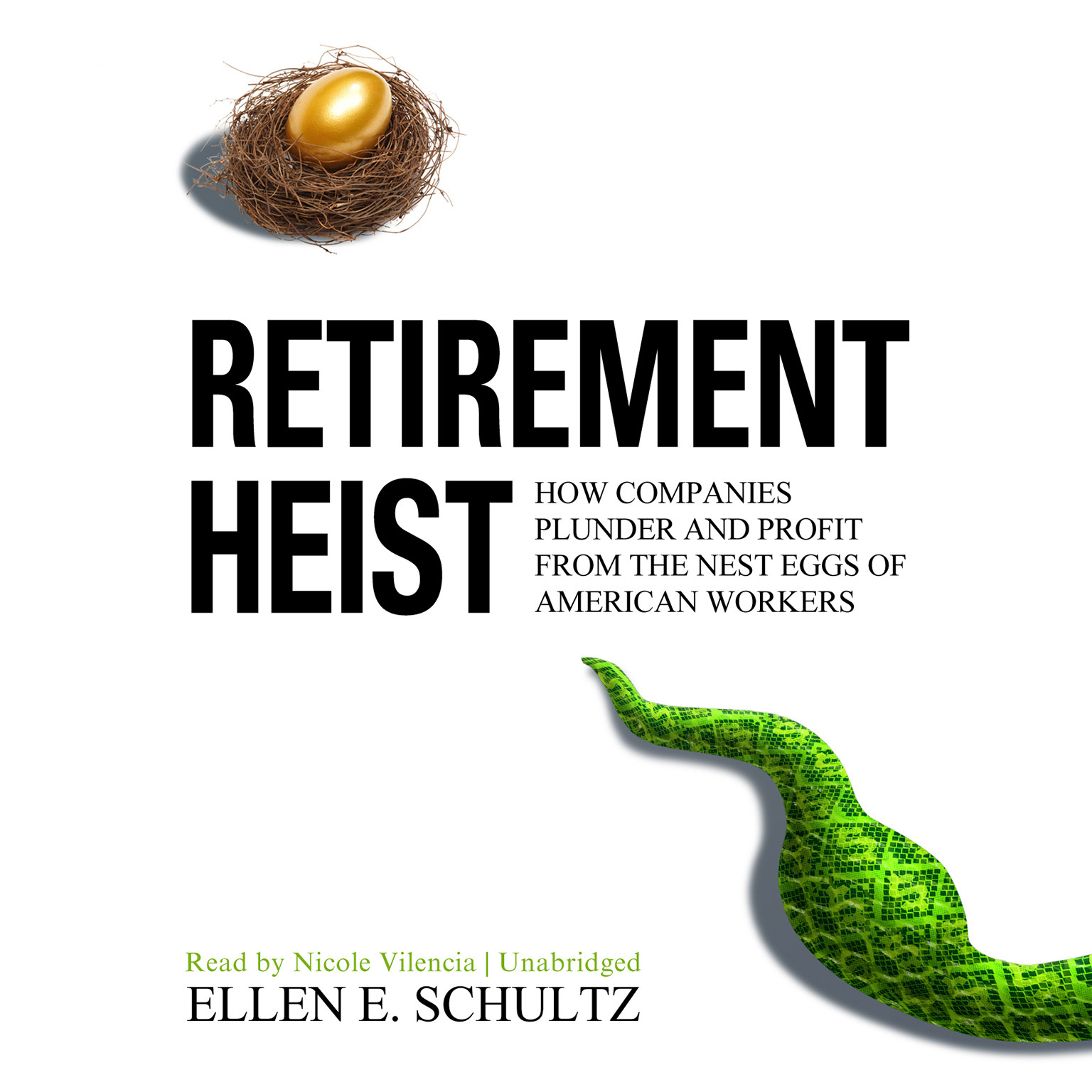 Printable Retirement Heist: How Companies Plunder and Profit from the Nest Eggs of American Workers Audiobook Cover Art