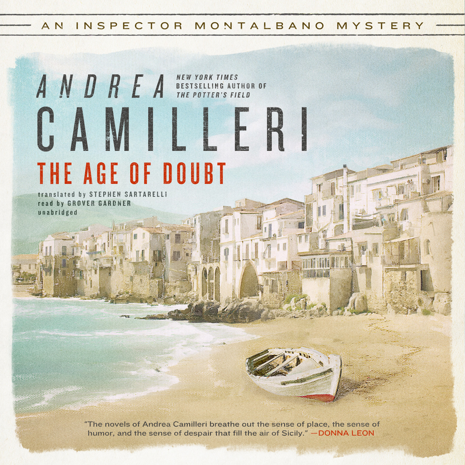 Printable The Age of Doubt Audiobook Cover Art