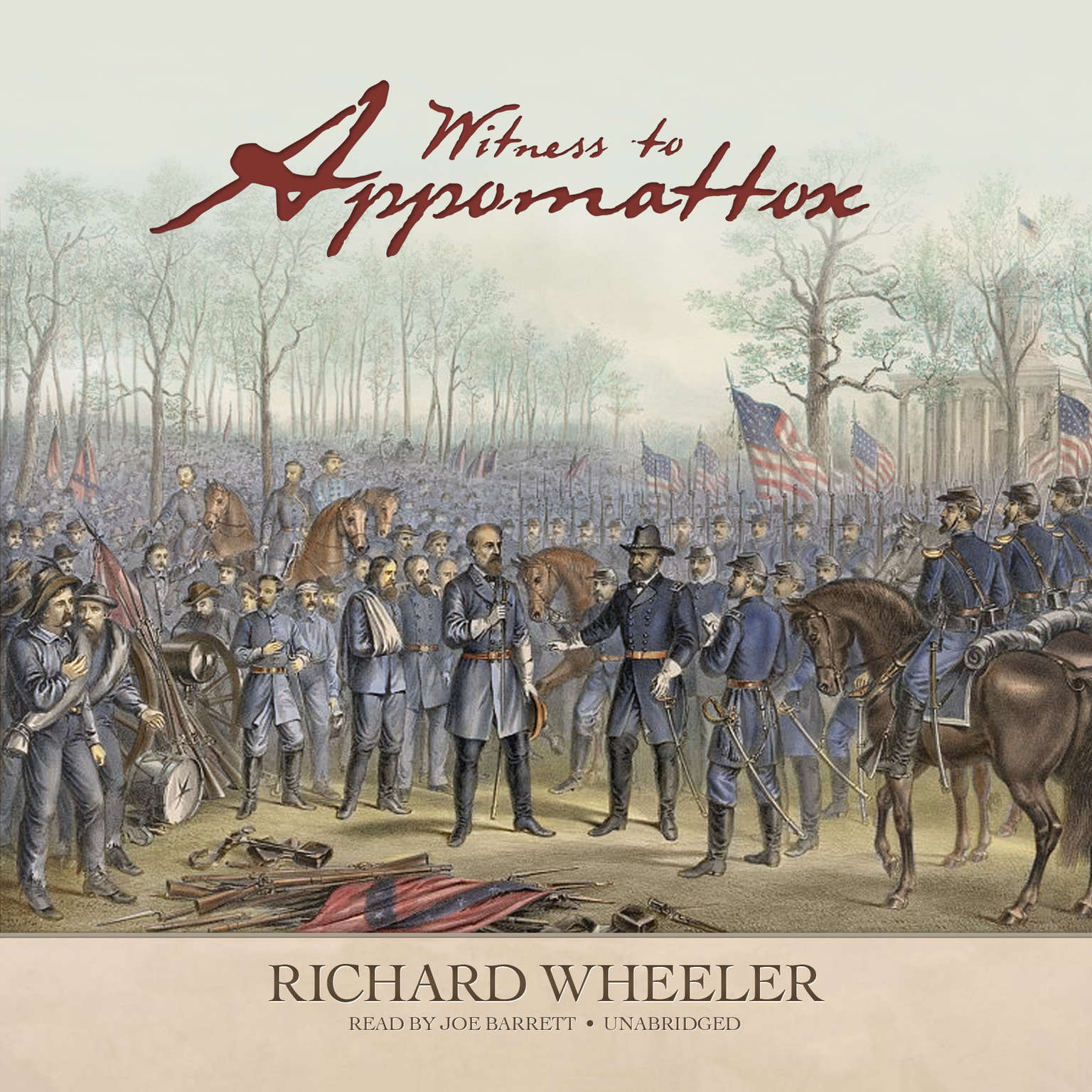 Printable Witness to Appomattox Audiobook Cover Art