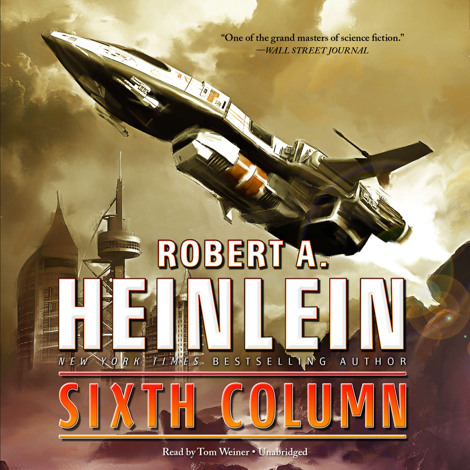 Printable Sixth Column Audiobook Cover Art