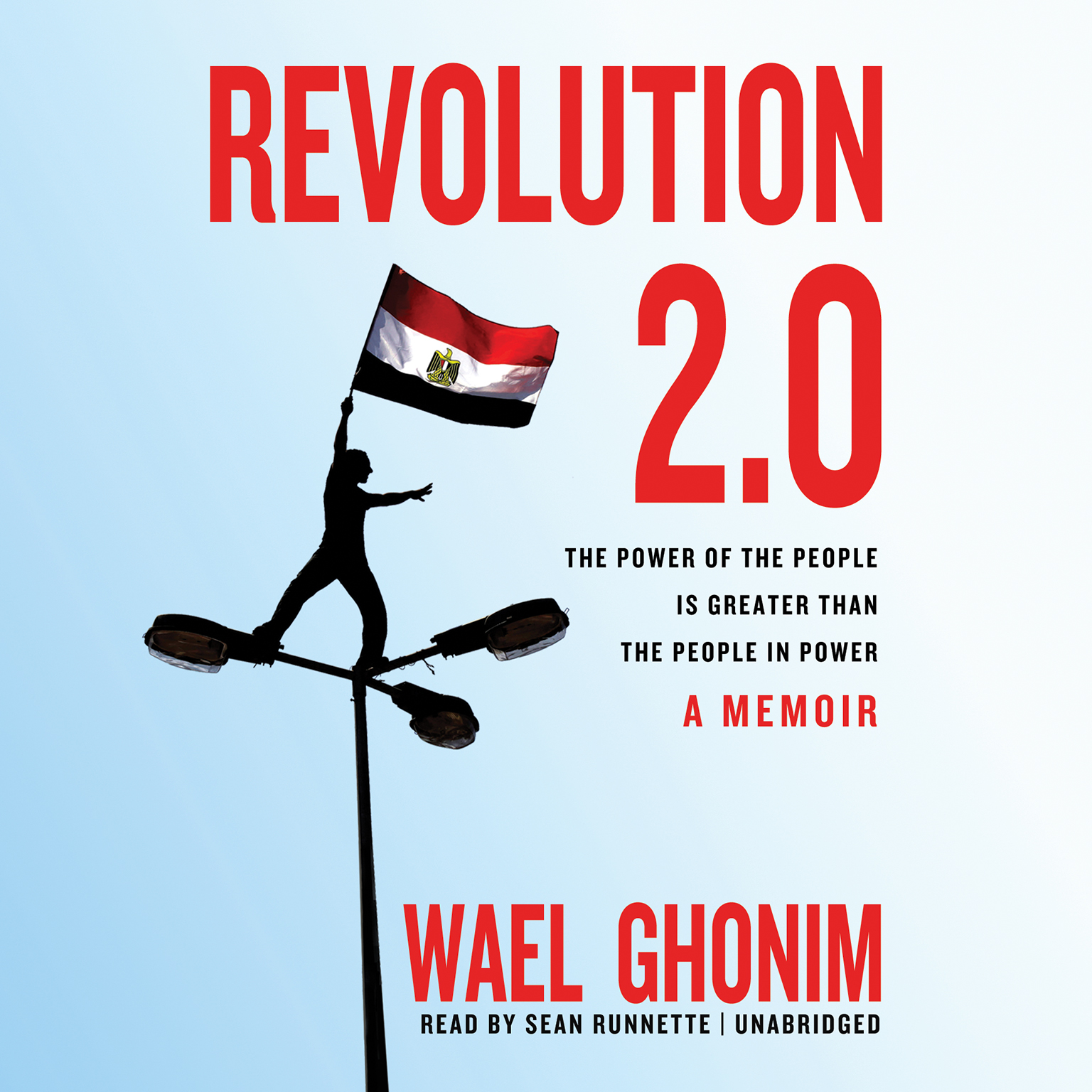 Printable Revolution 2.0: The Power of the People Is Greater Than the People in Power; A Memoir Audiobook Cover Art
