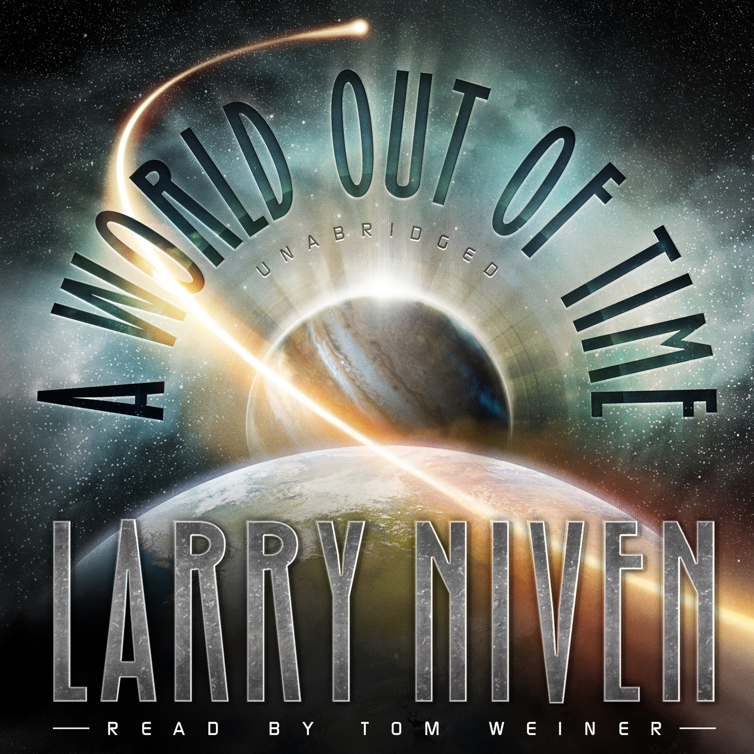 Printable A World out of Time Audiobook Cover Art