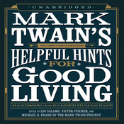Mark Twain's Helpful Hints for Good Living, by Mark Twain