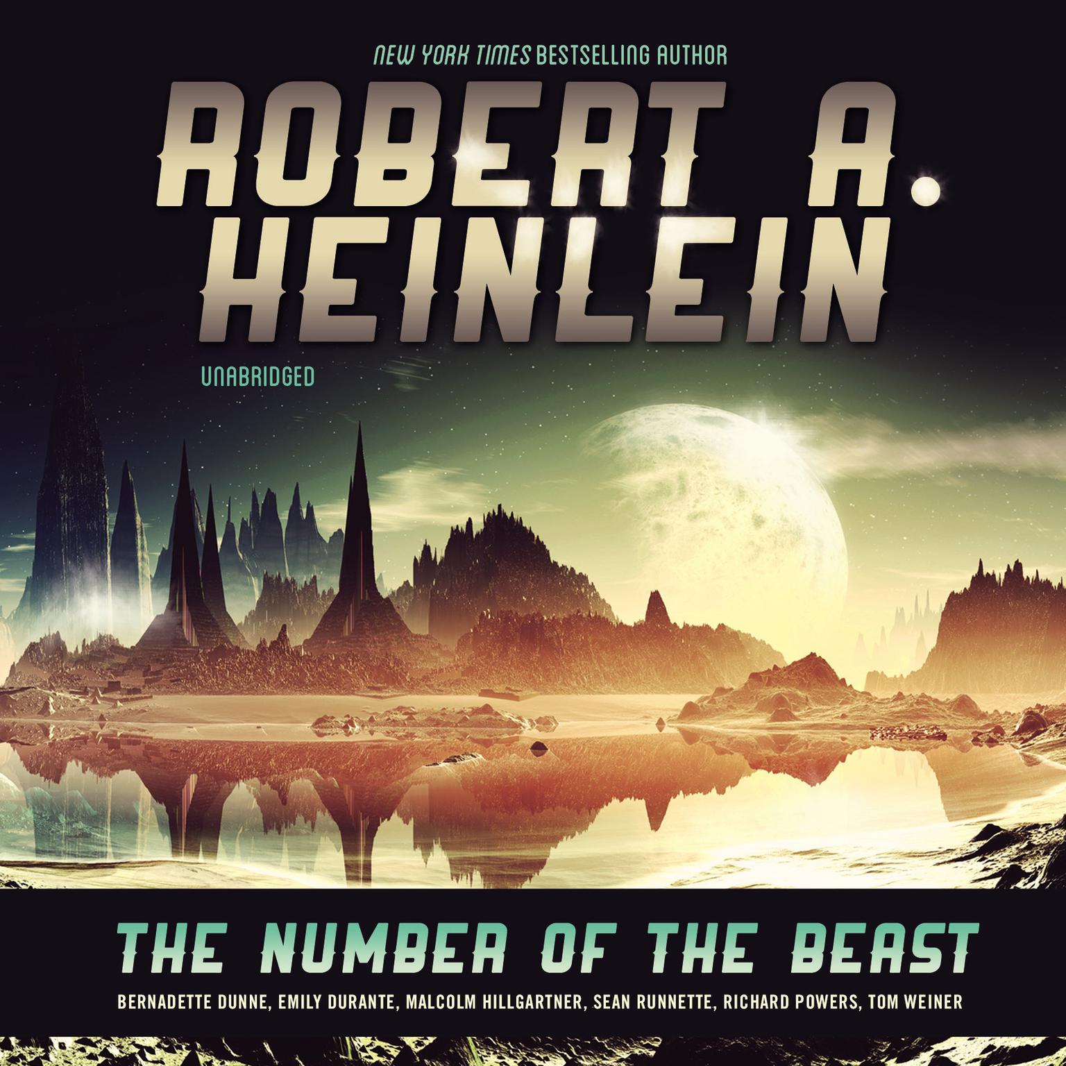 Printable The Number of the Beast Audiobook Cover Art