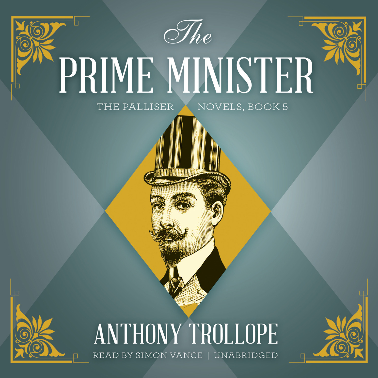 Printable The Prime Minister Audiobook Cover Art