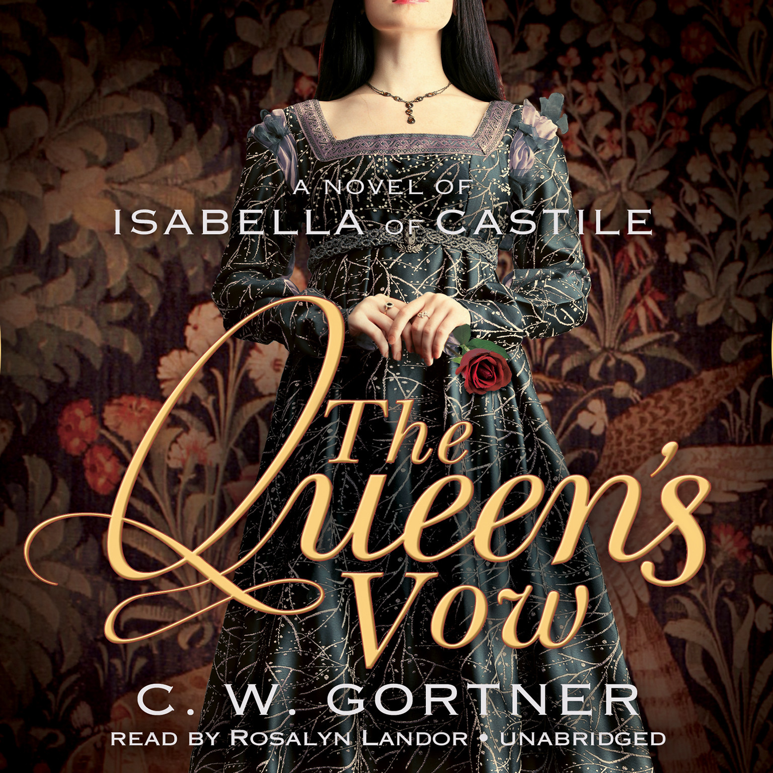 Printable The Queen's Vow: A Novel of Isabella of Castile Audiobook Cover Art