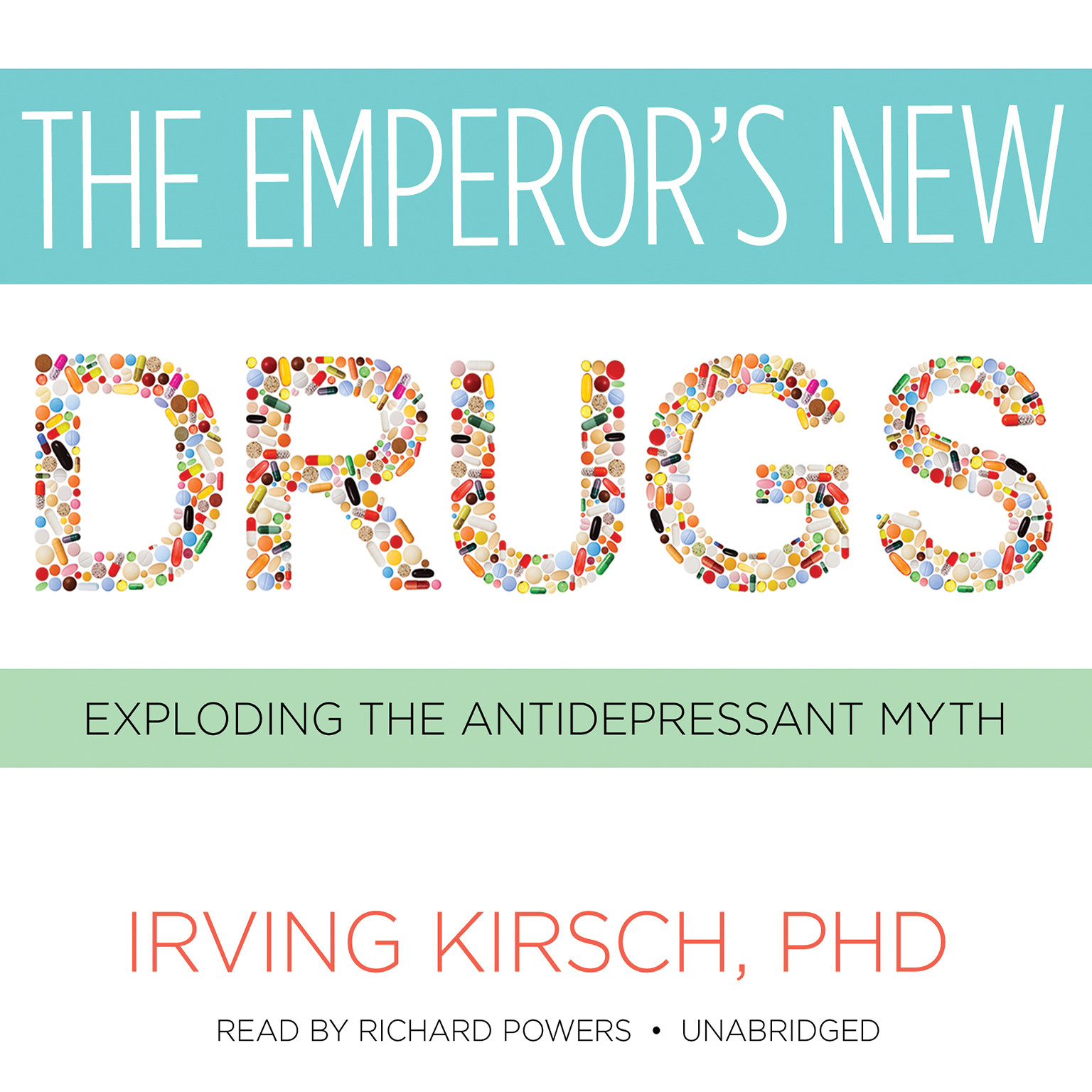 Printable The Emperor's New Drugs: Exploding the Antidepressant Myth Audiobook Cover Art